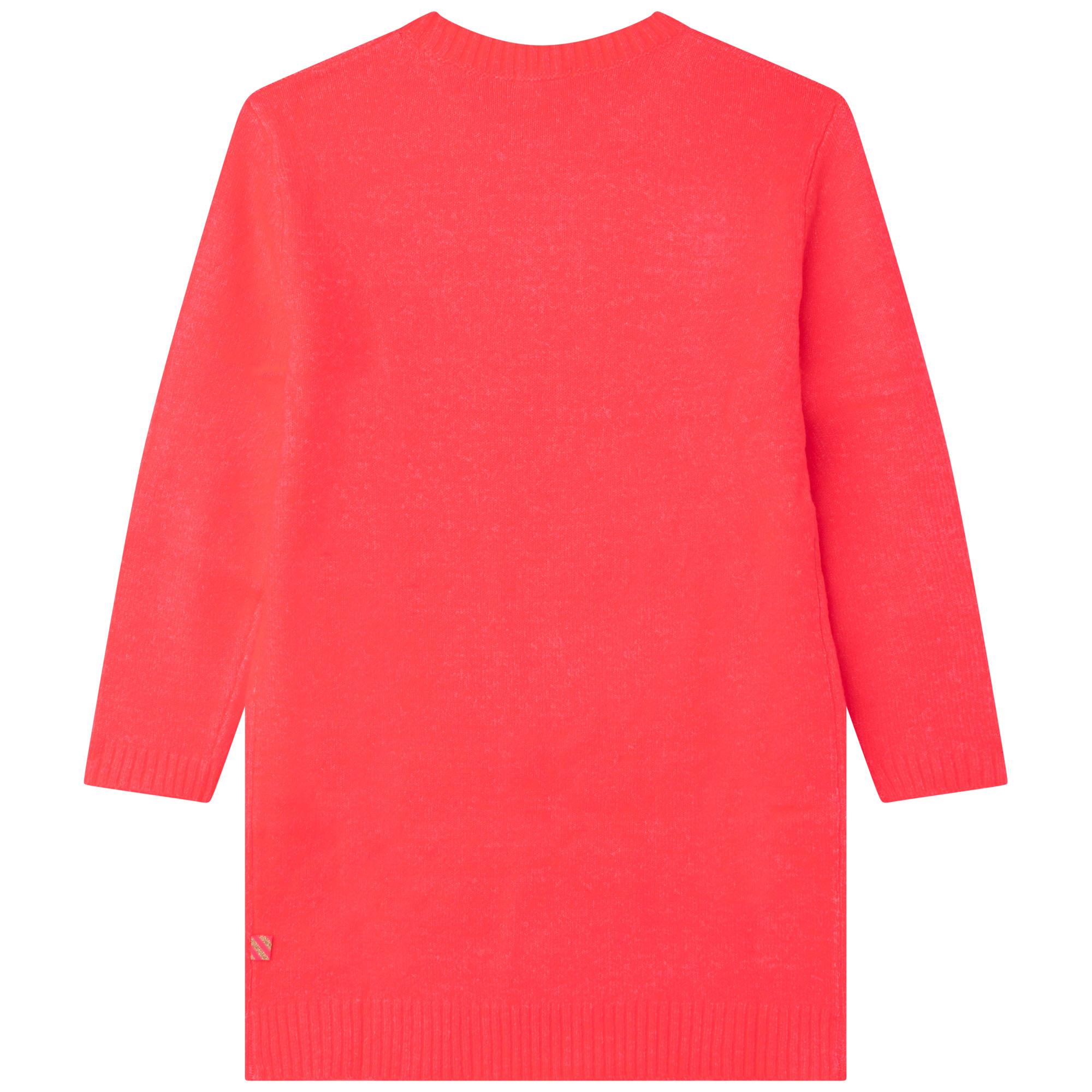 Stretch knit sweater dress BILLIEBLUSH for GIRL