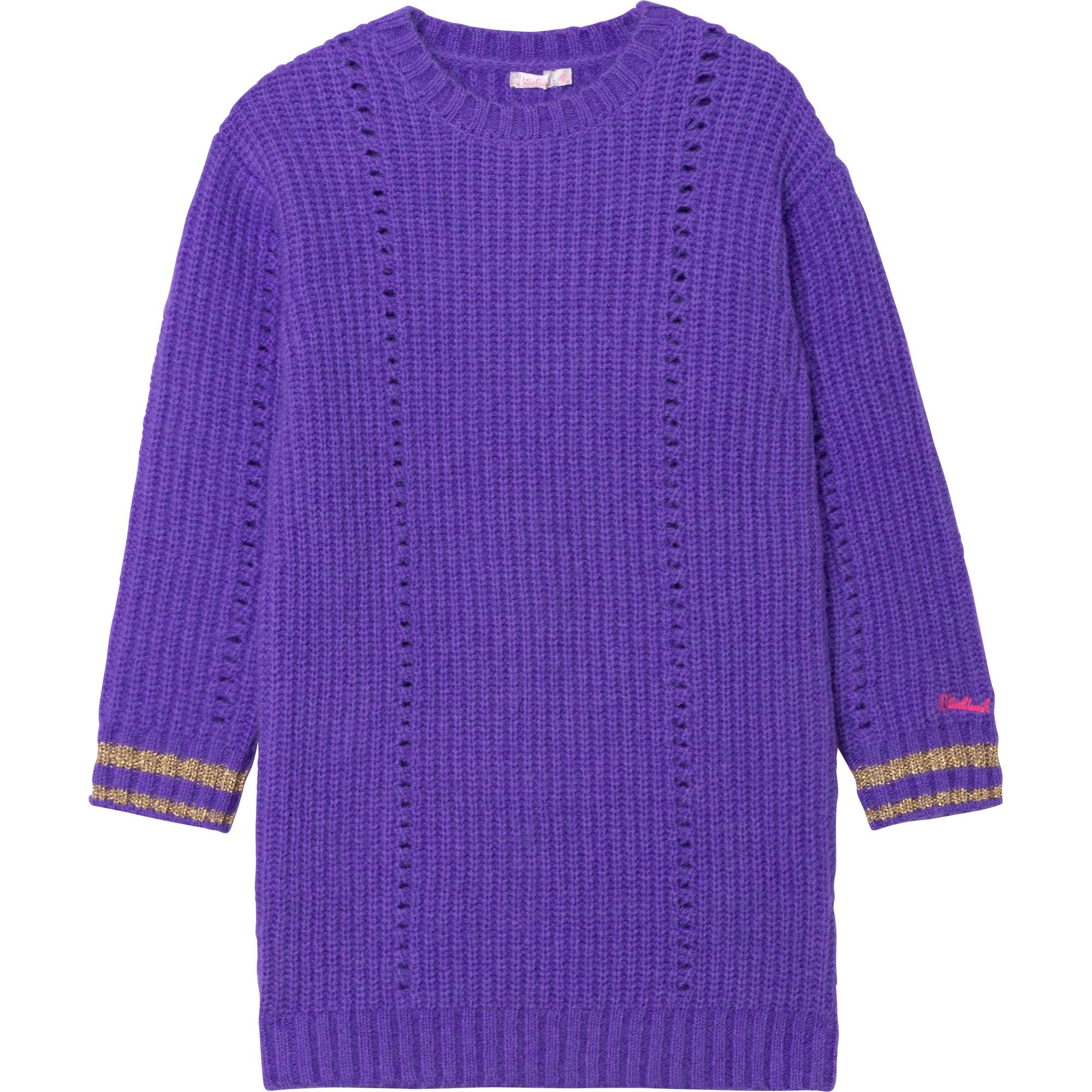 Openwork knit sweater dress BILLIEBLUSH for GIRL