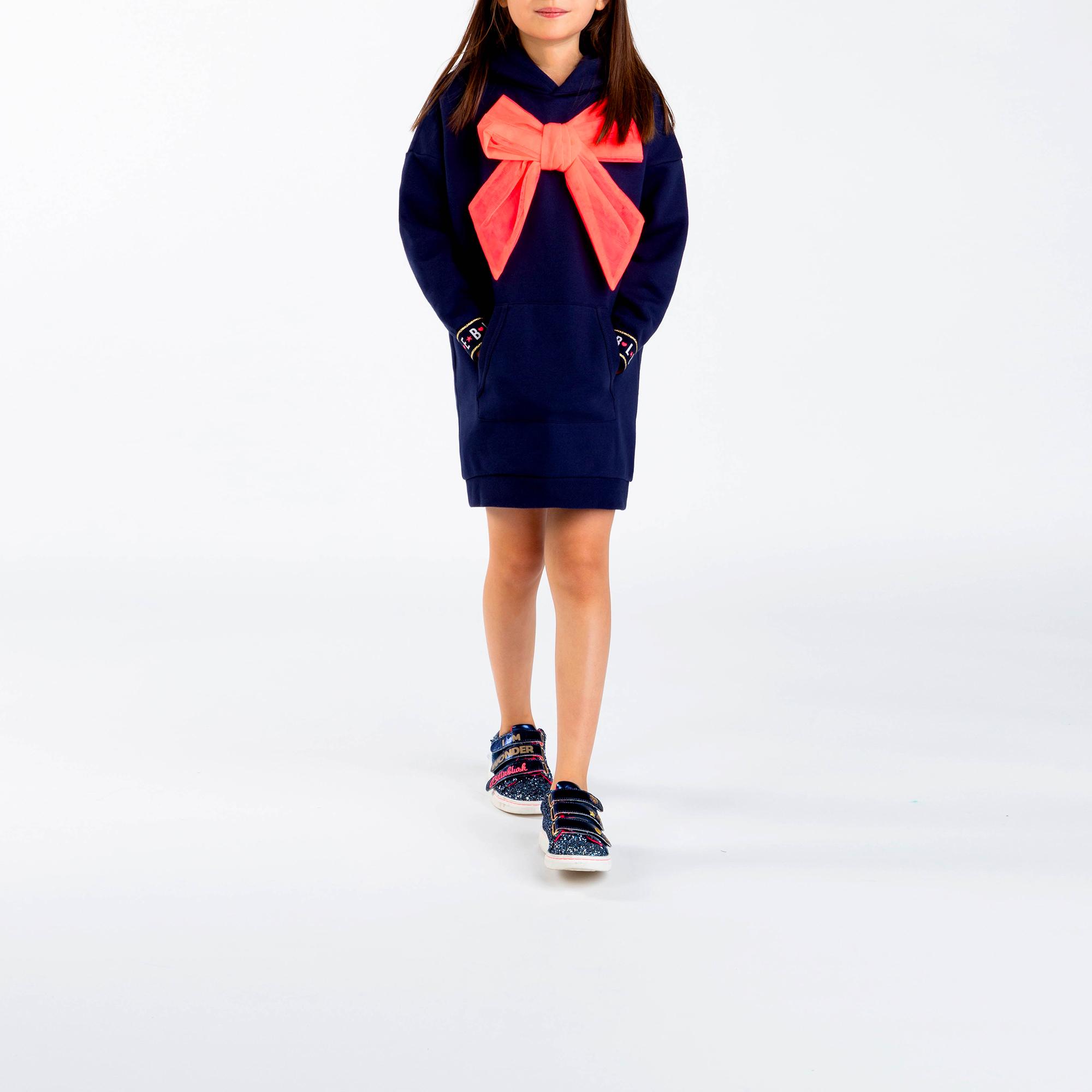 Hooded sweatshirt dress BILLIEBLUSH for GIRL