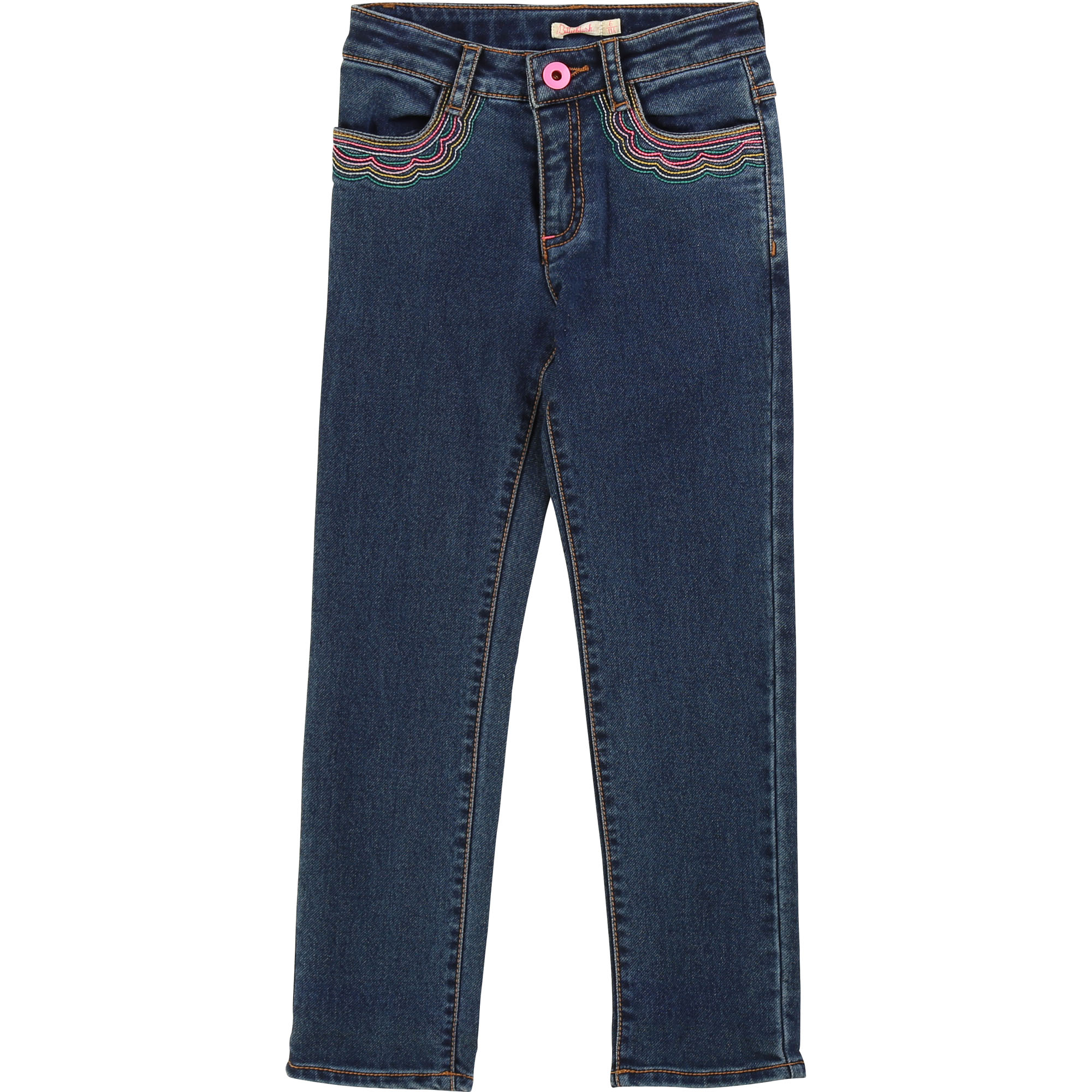 Pantalon denim broderies BILLIEBLUSH pour FILLE