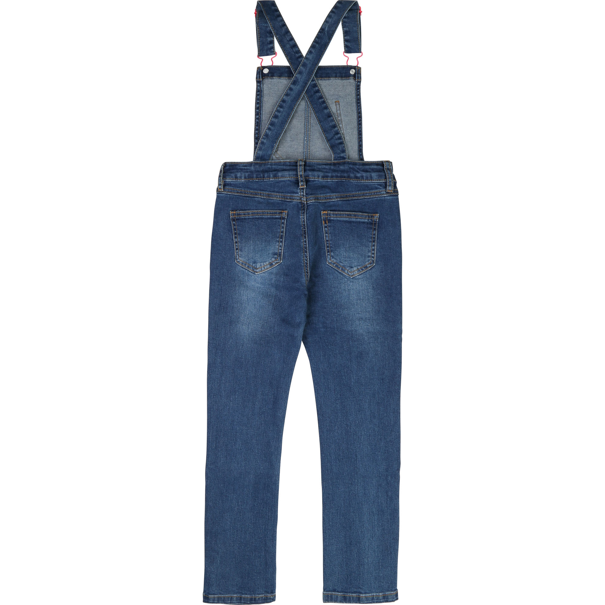 Salopette stretch en denim BILLIEBLUSH pour FILLE