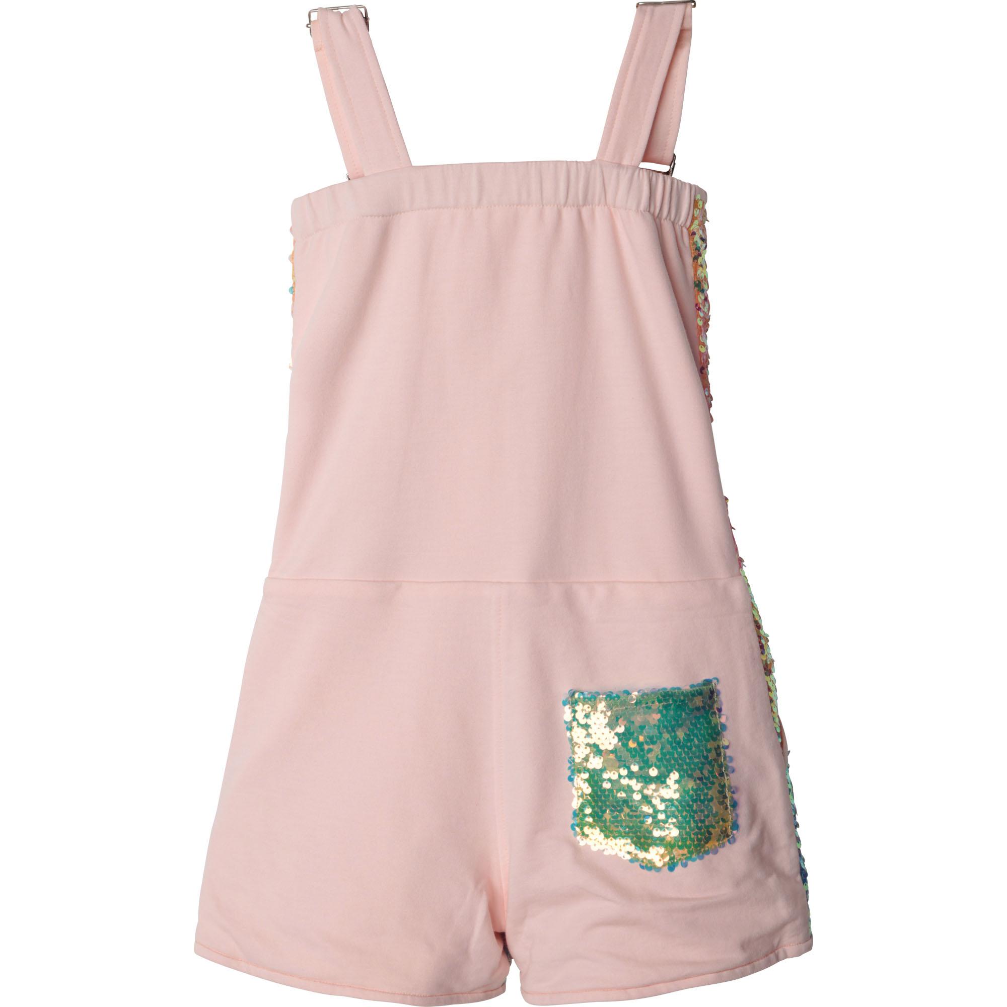 Sequin and fleece overalls BILLIEBLUSH for GIRL