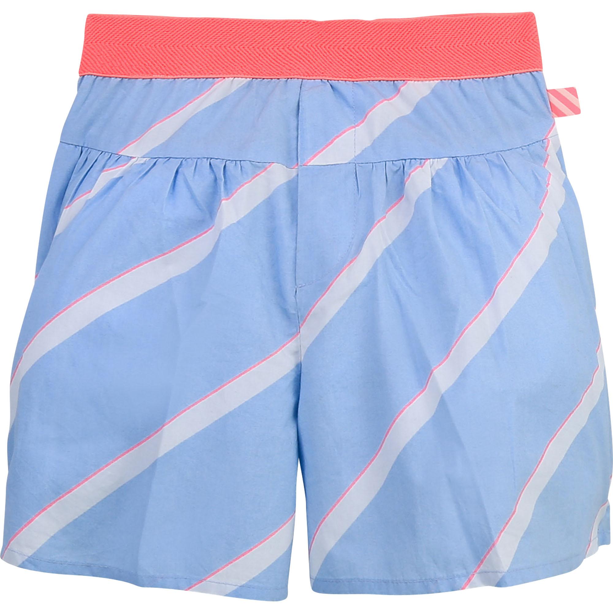 Cotton poplin shorts BILLIEBLUSH for GIRL