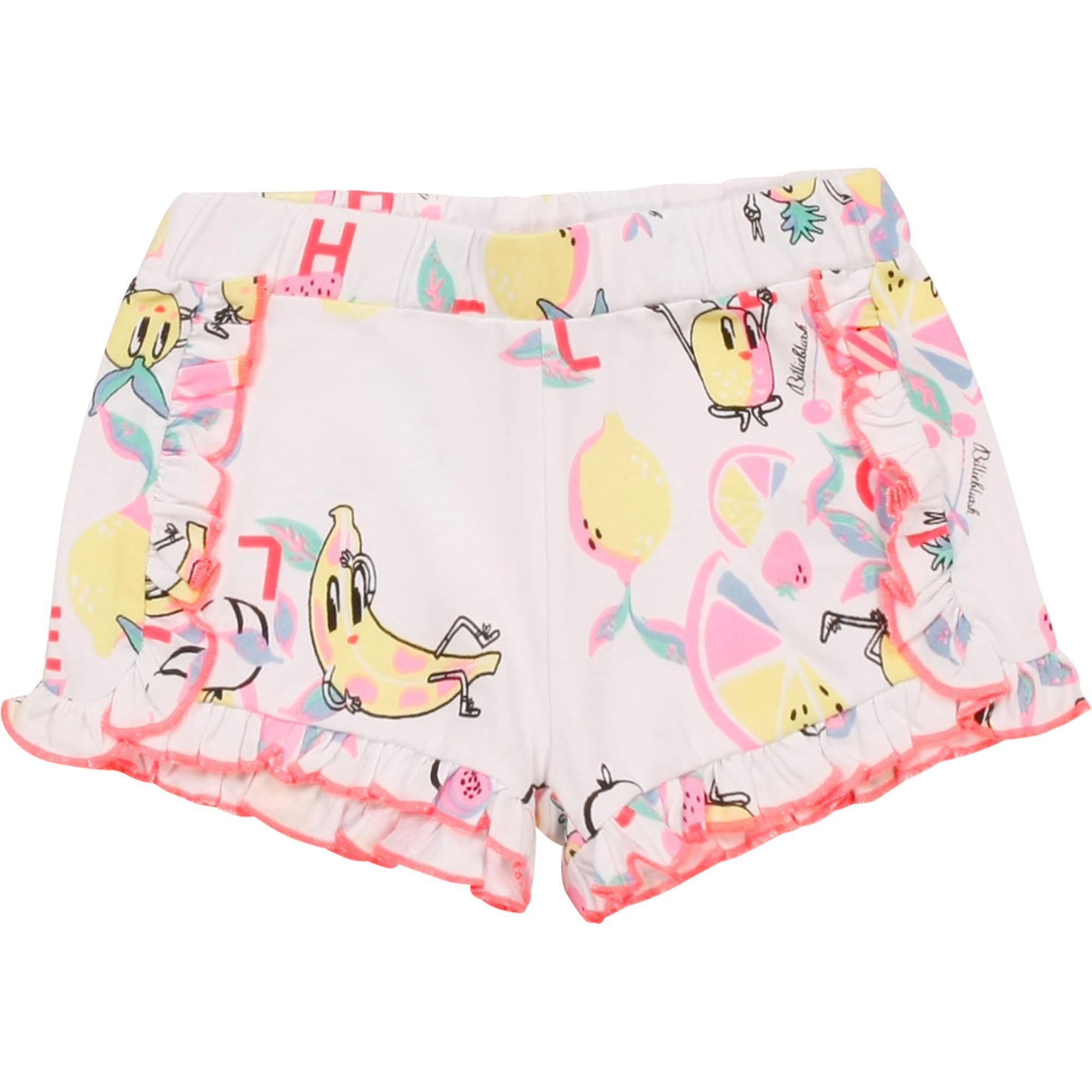 Frilled cotton shorts BILLIEBLUSH for GIRL