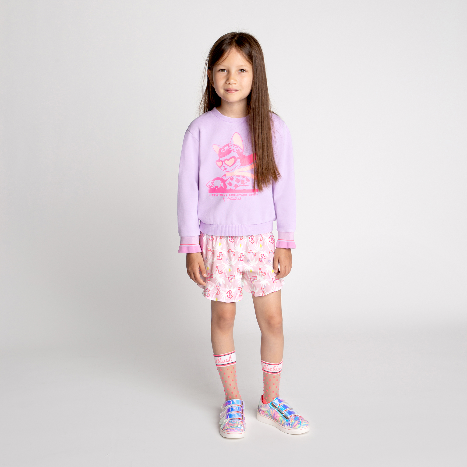 Patterned viscose shorts BILLIEBLUSH for GIRL