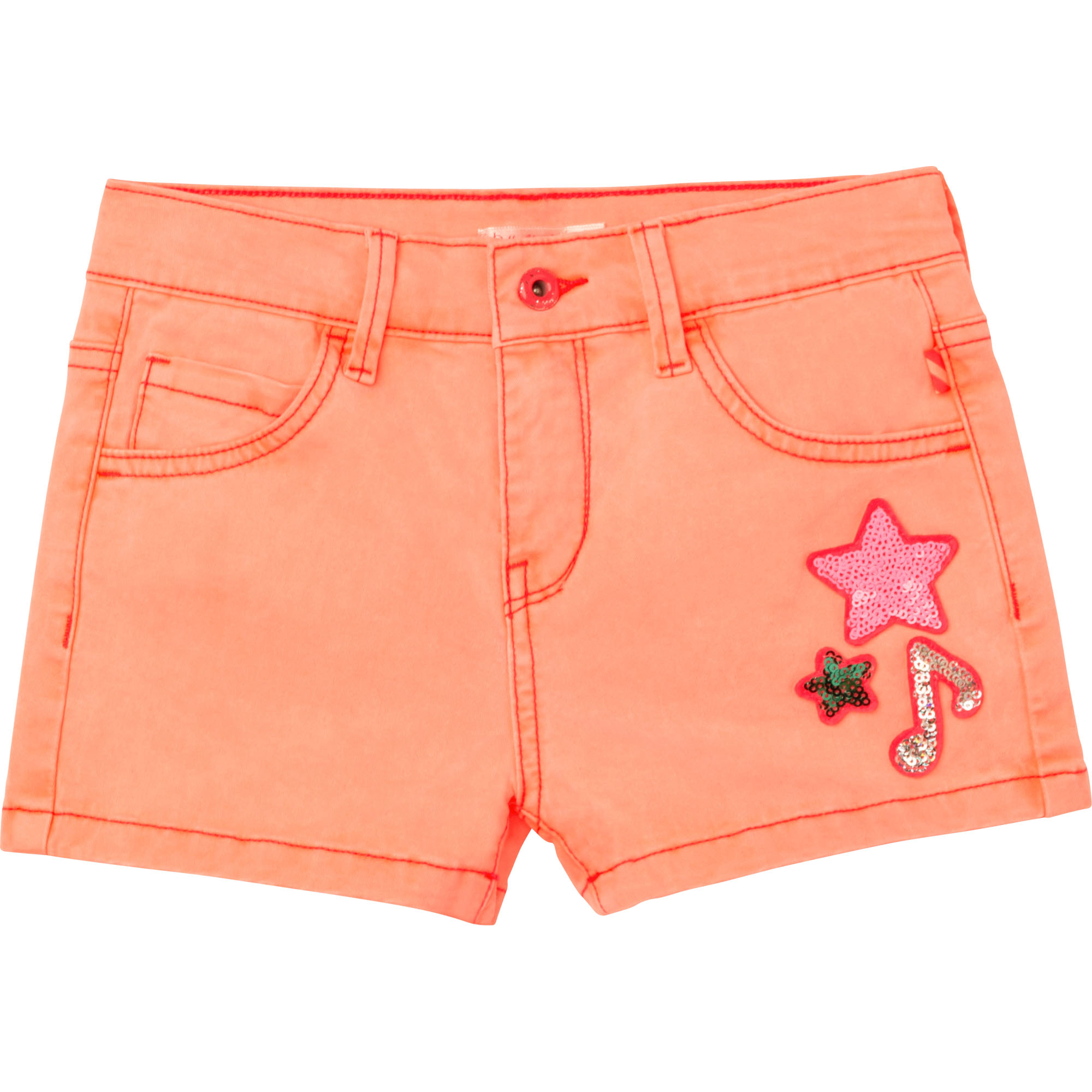 Short en drill à sequins BILLIEBLUSH pour FILLE