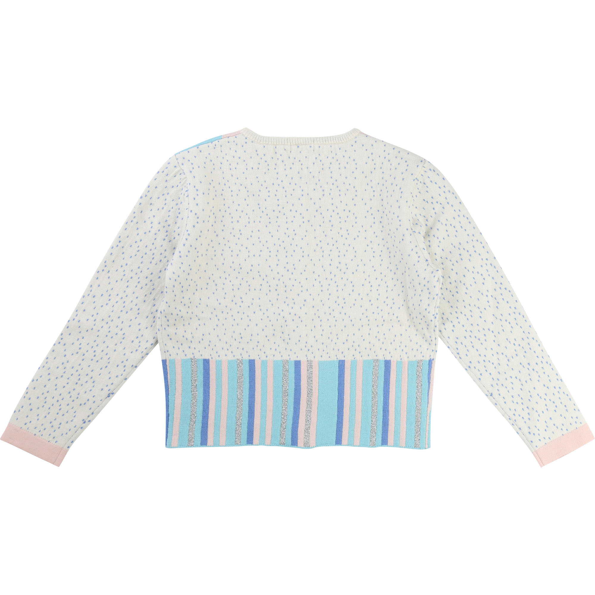 Fancy Jacquard-knit cardigan BILLIEBLUSH for GIRL