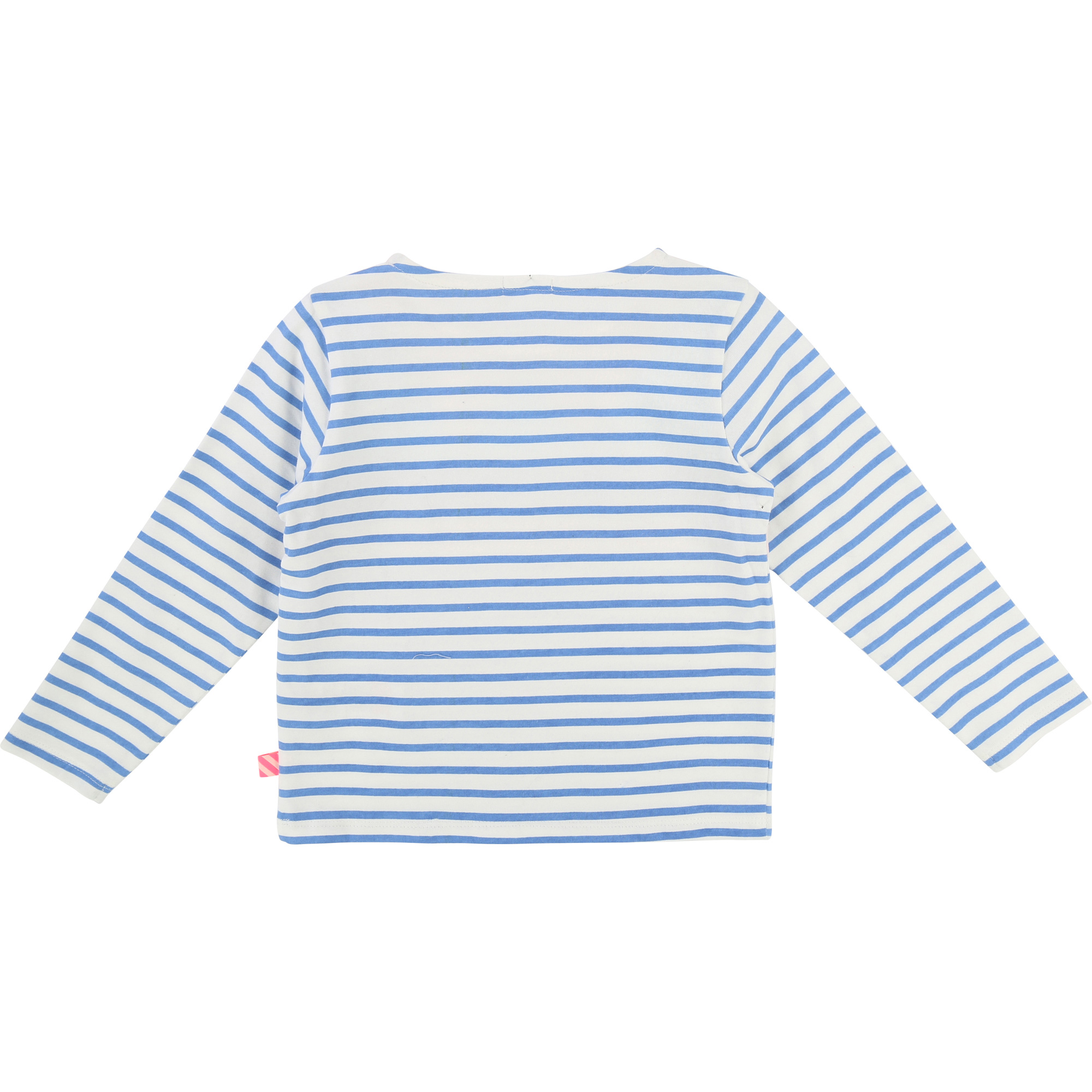 Fancy striped cotton t-shirt BILLIEBLUSH for GIRL