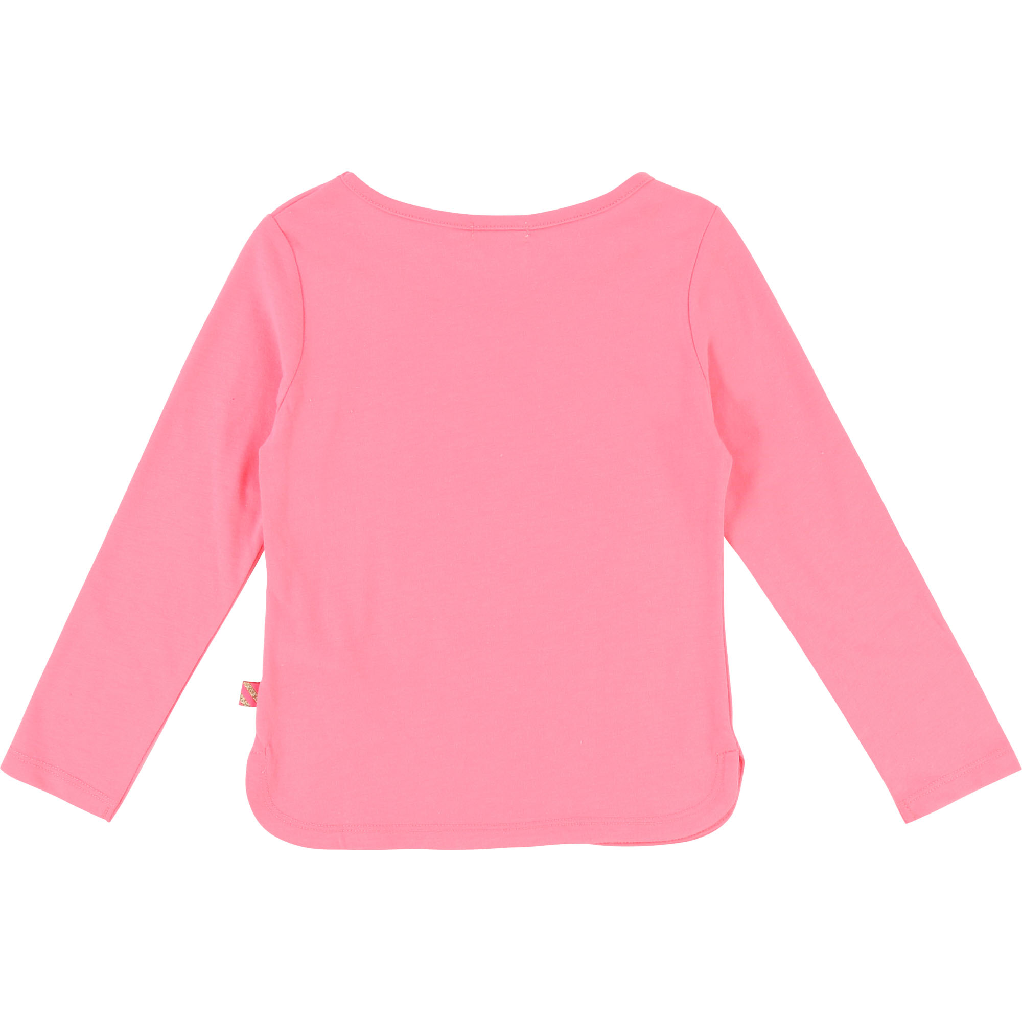 Pink cotton polyester t-shirt BILLIEBLUSH for GIRL