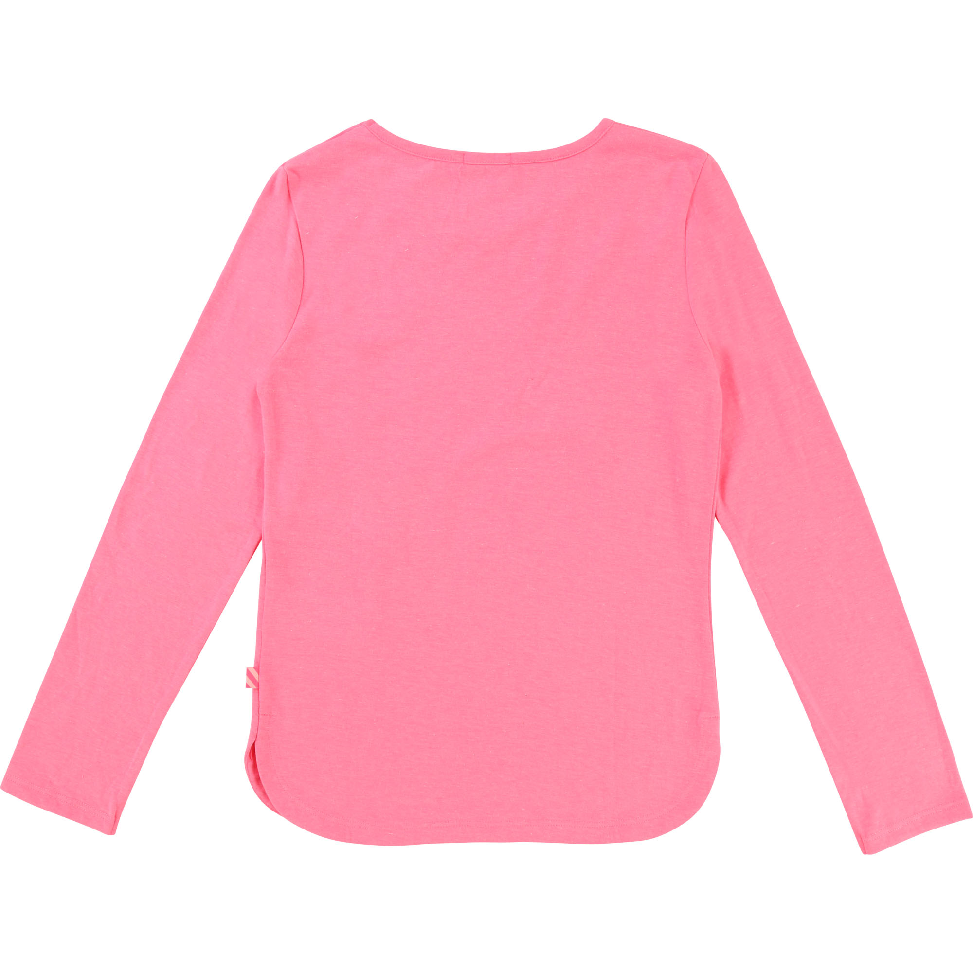 Pink patch sequin t-shirt BILLIEBLUSH for GIRL