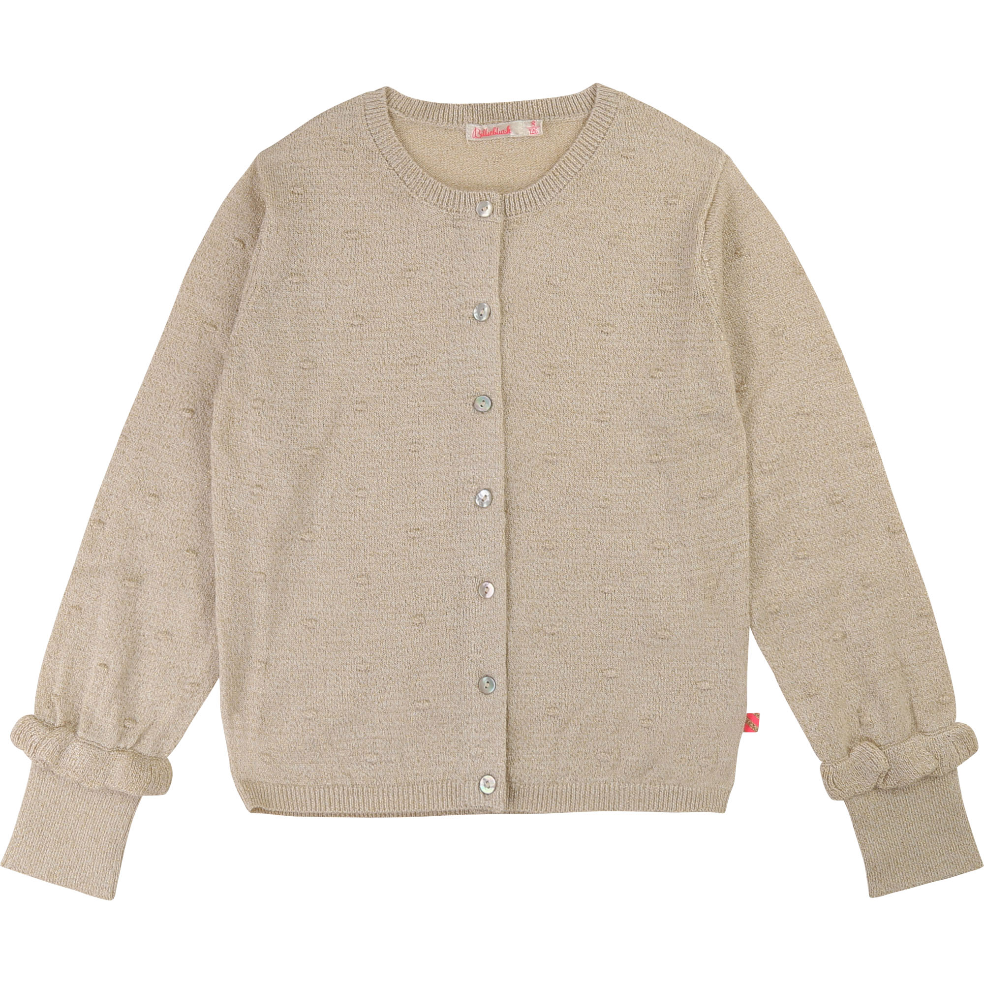 Knitted cardigan with frills BILLIEBLUSH for GIRL