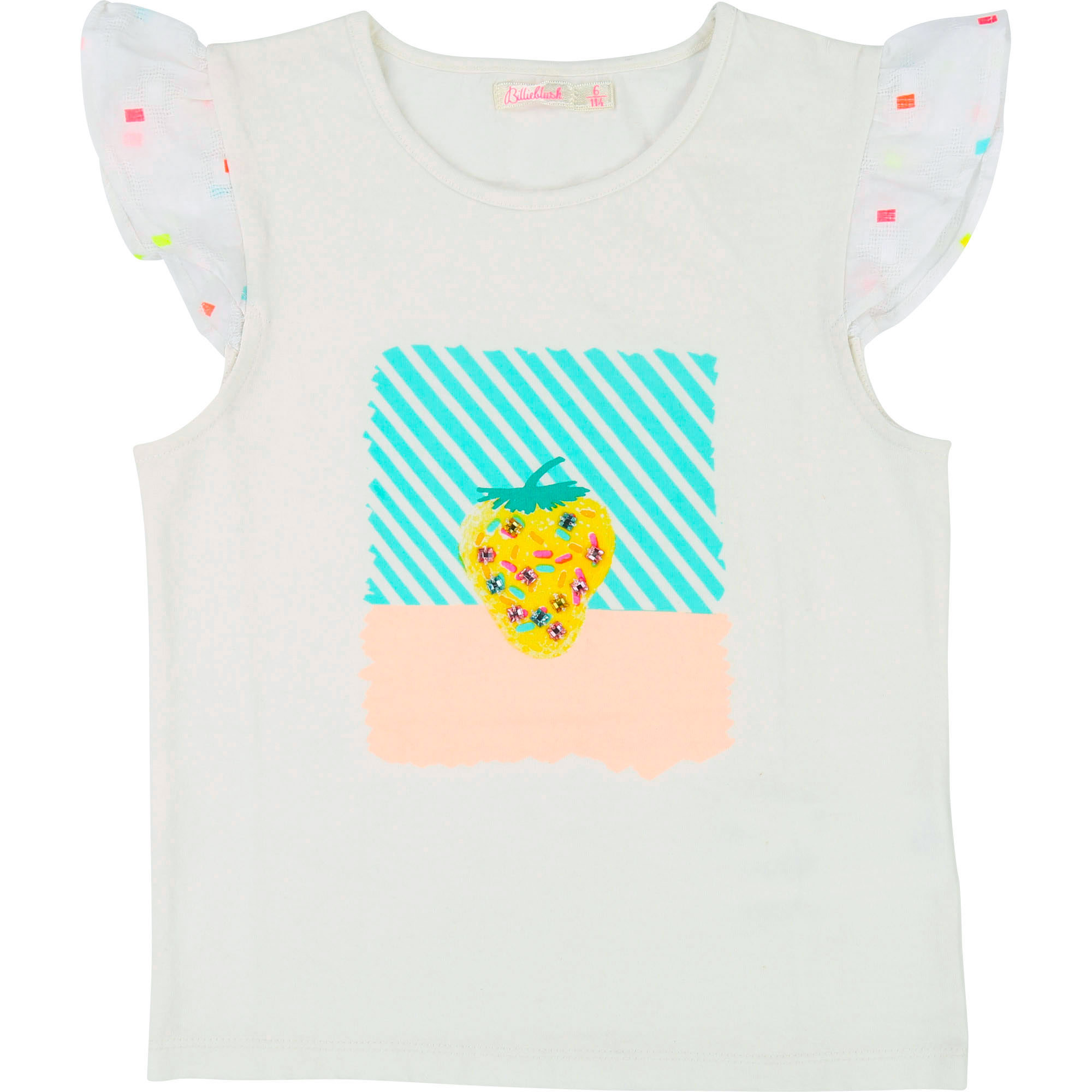 Fancy embroidered T-shirt BILLIEBLUSH for GIRL