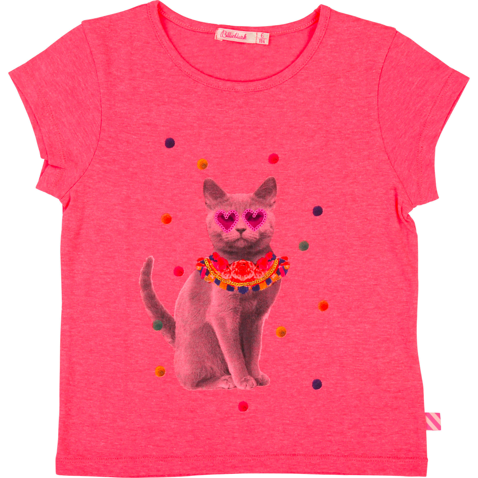 Fancy jersey T-shirt BILLIEBLUSH for GIRL