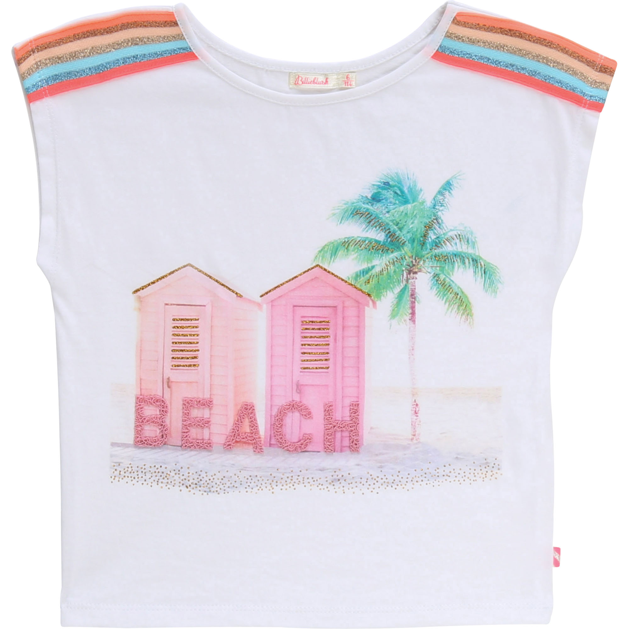 T-shirt with braids BILLIEBLUSH for GIRL