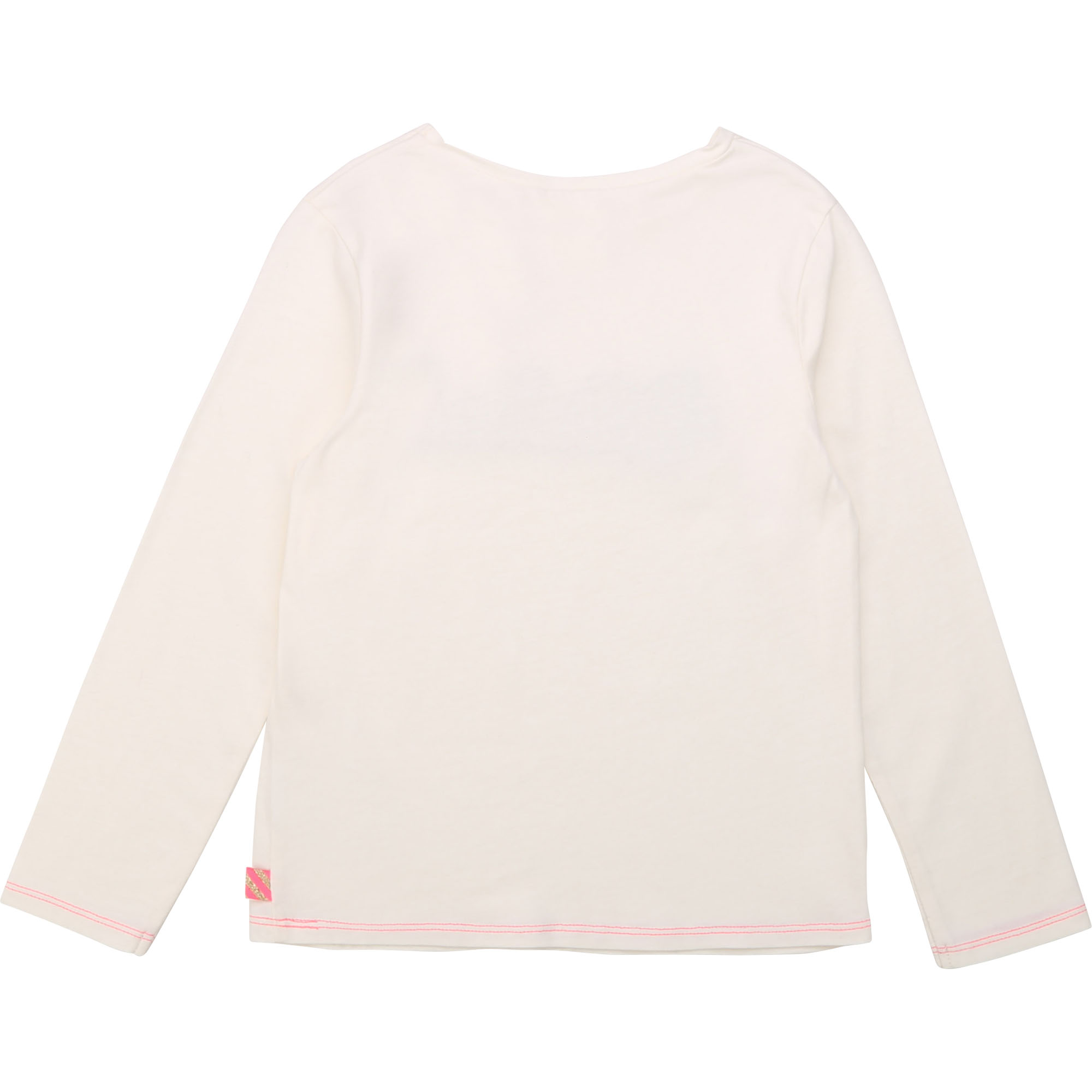T-shirt en coton patch brodé BILLIEBLUSH pour FILLE