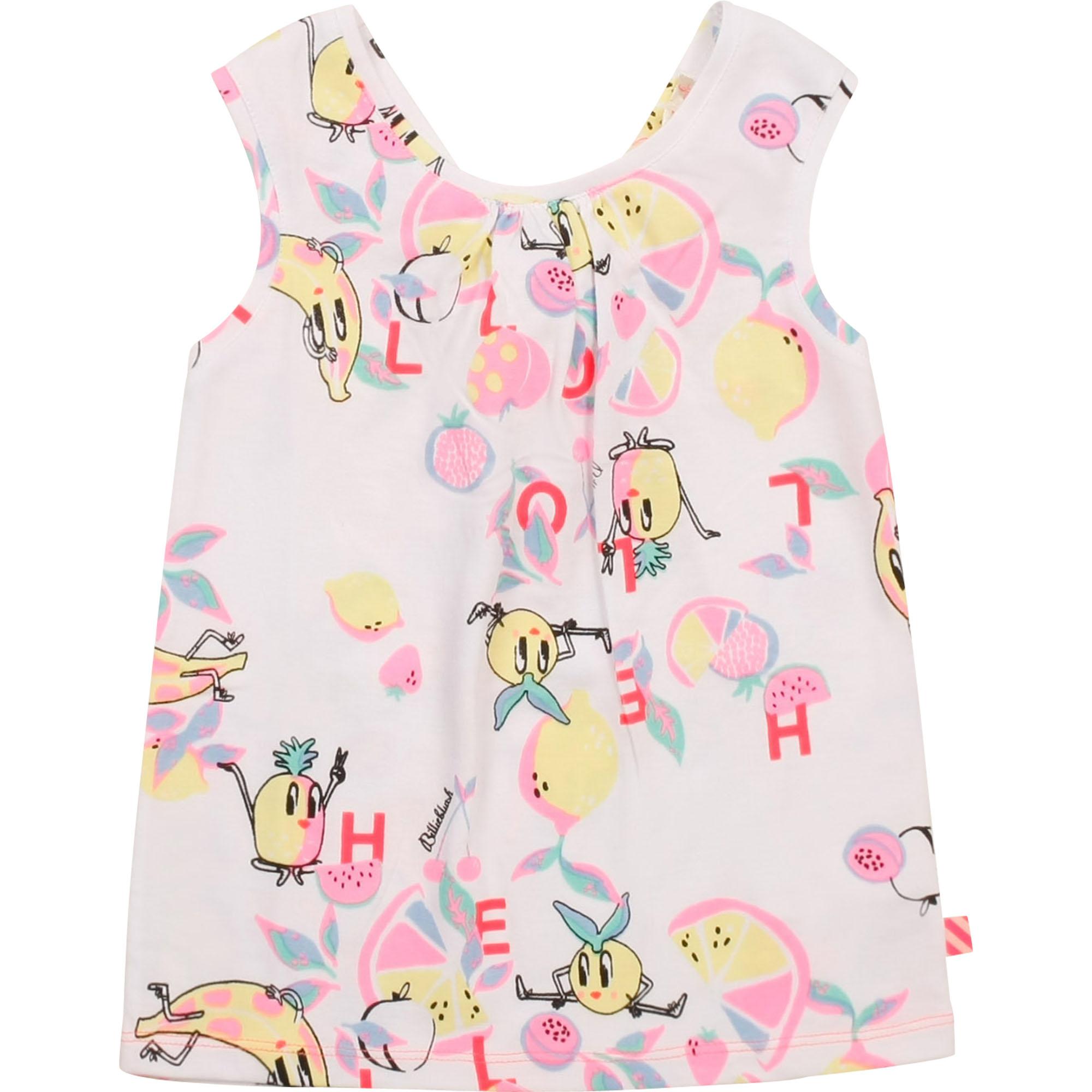 Novelty criss-crossed vest top BILLIEBLUSH for GIRL