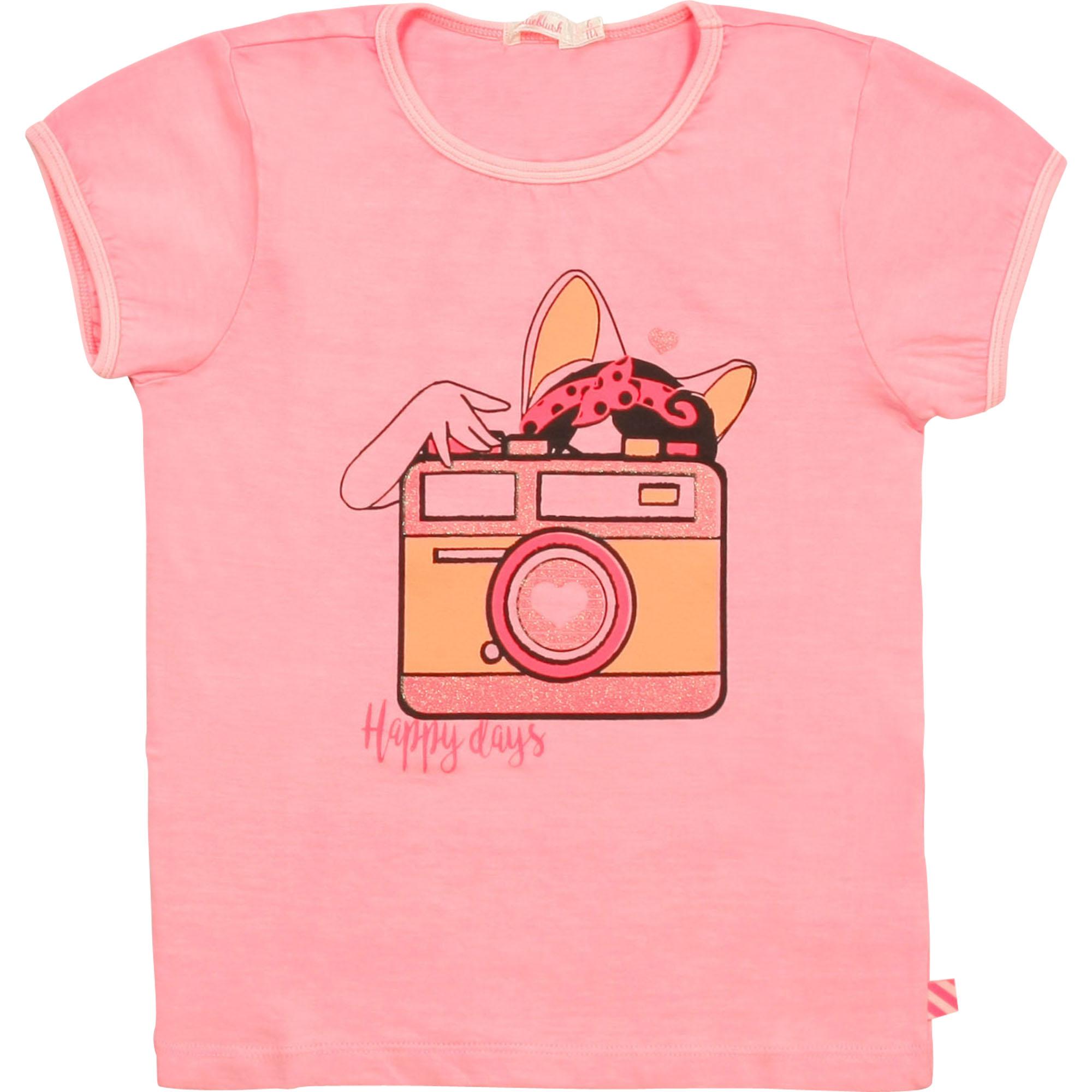 Novelty cotton T-shirt BILLIEBLUSH for GIRL