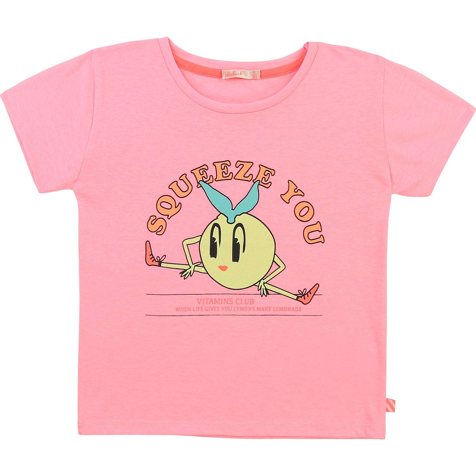 Round-necked printed T-shirt BILLIEBLUSH for GIRL