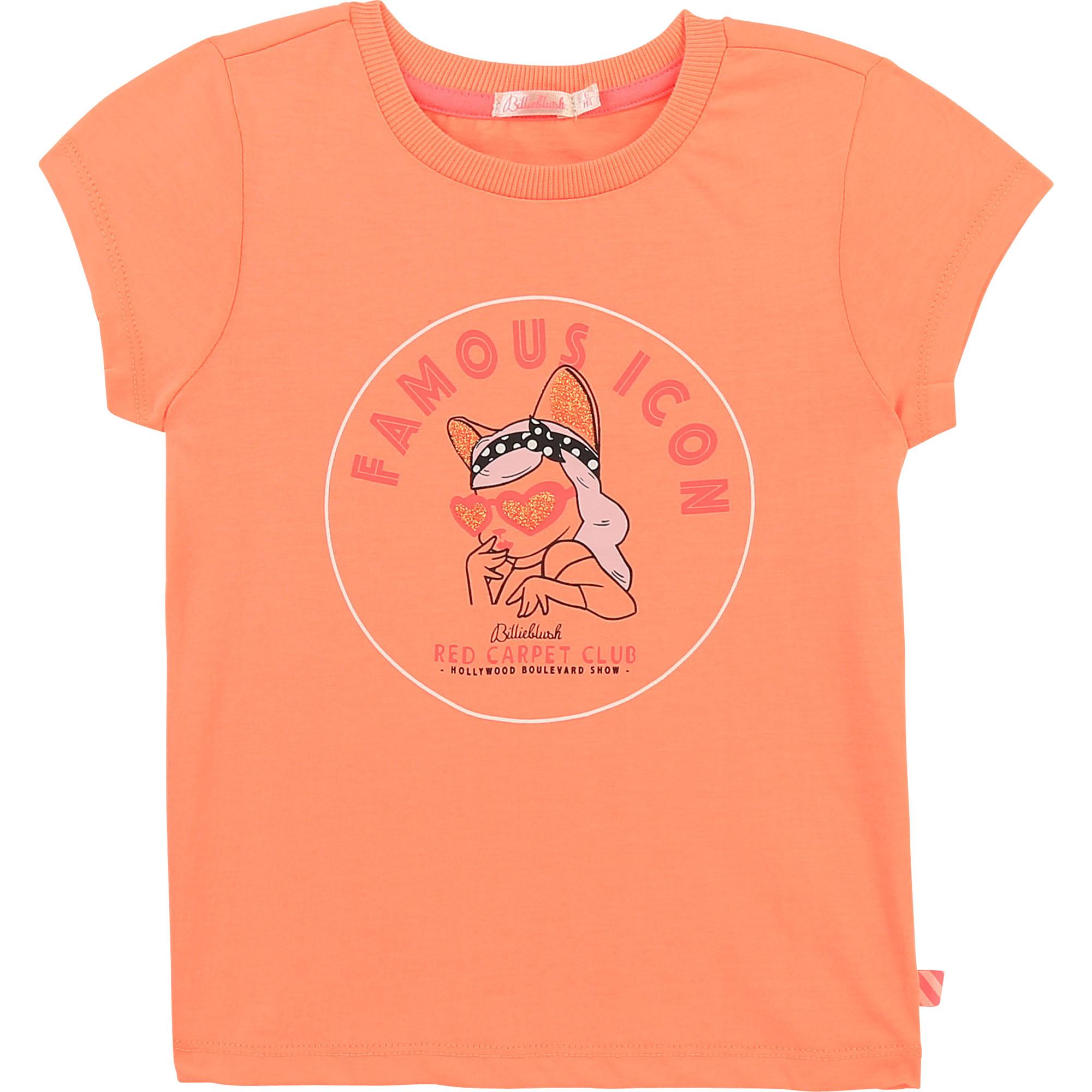 T-shirt en jersey à paillettes BILLIEBLUSH pour FILLE
