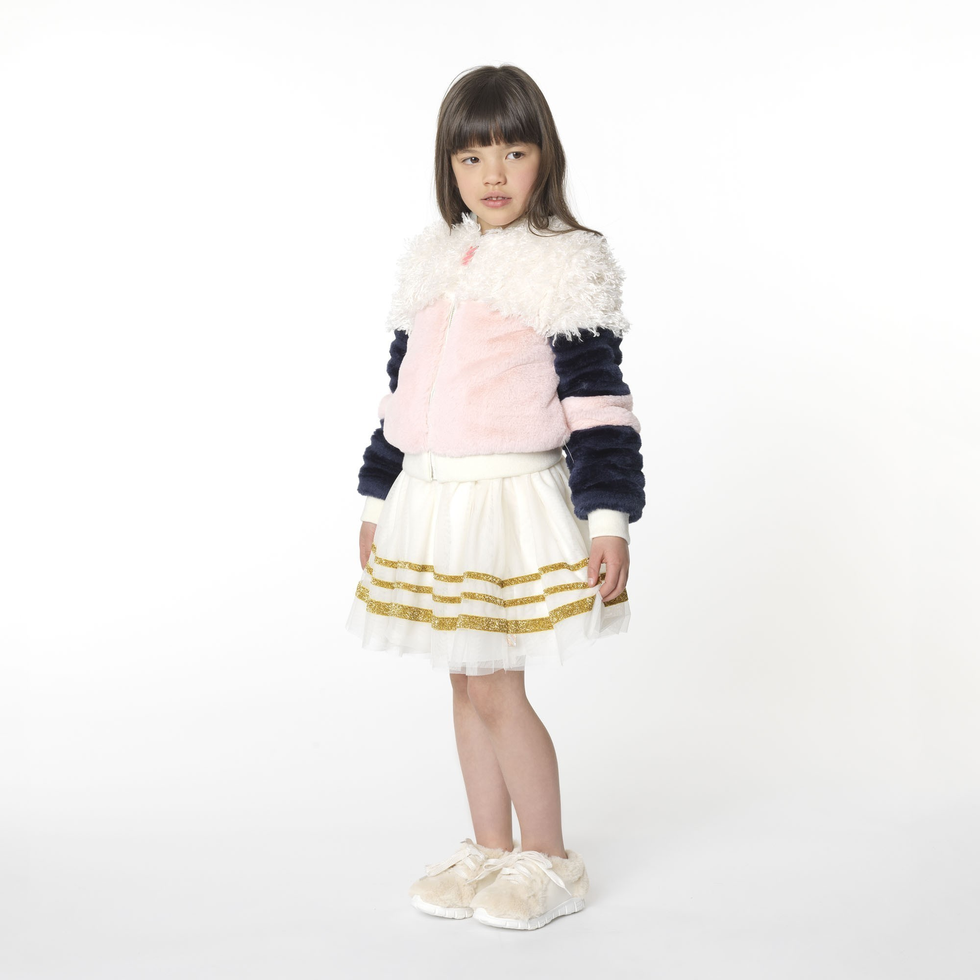 Faux fur jacket BILLIEBLUSH for GIRL