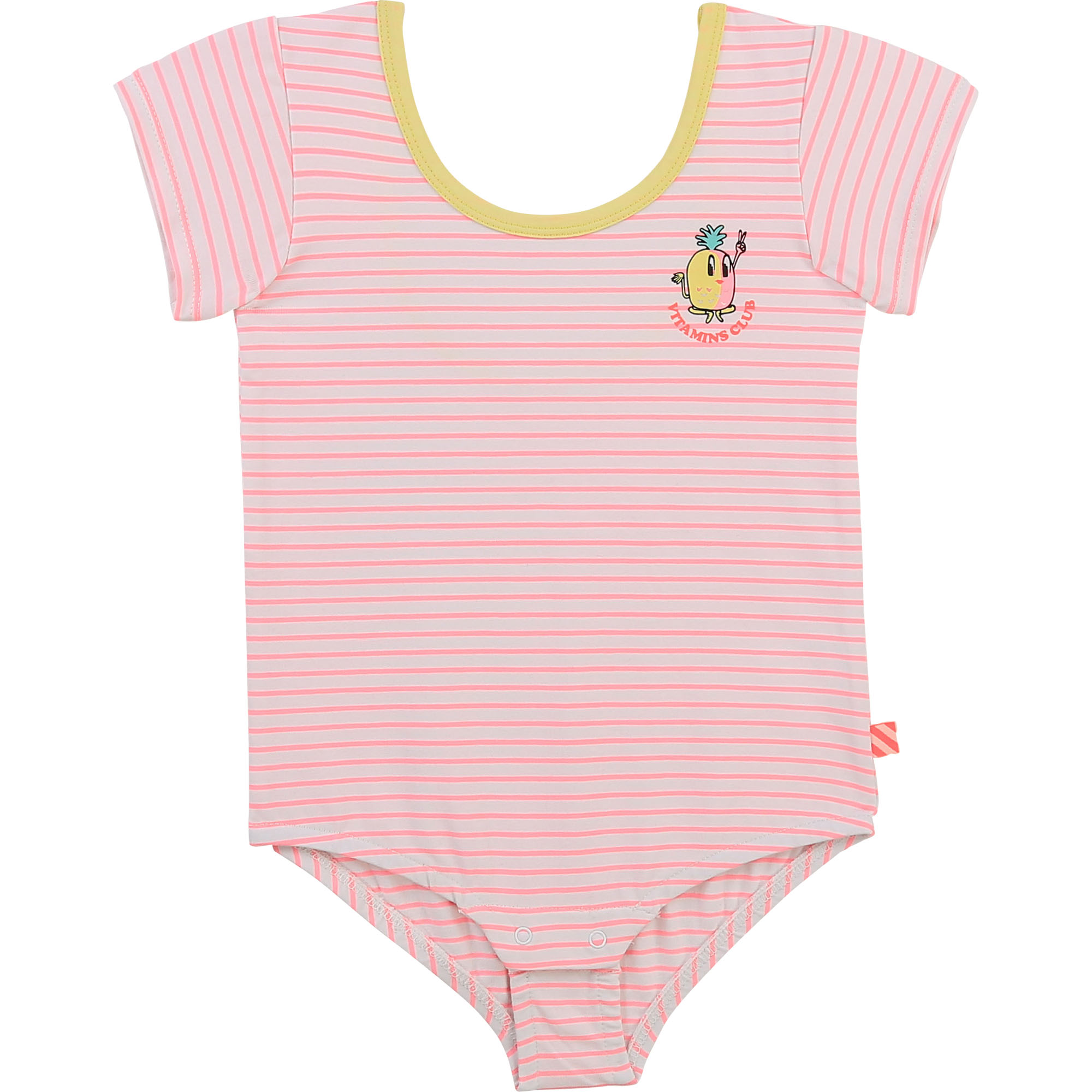 Striped jersey bodysuit BILLIEBLUSH for GIRL
