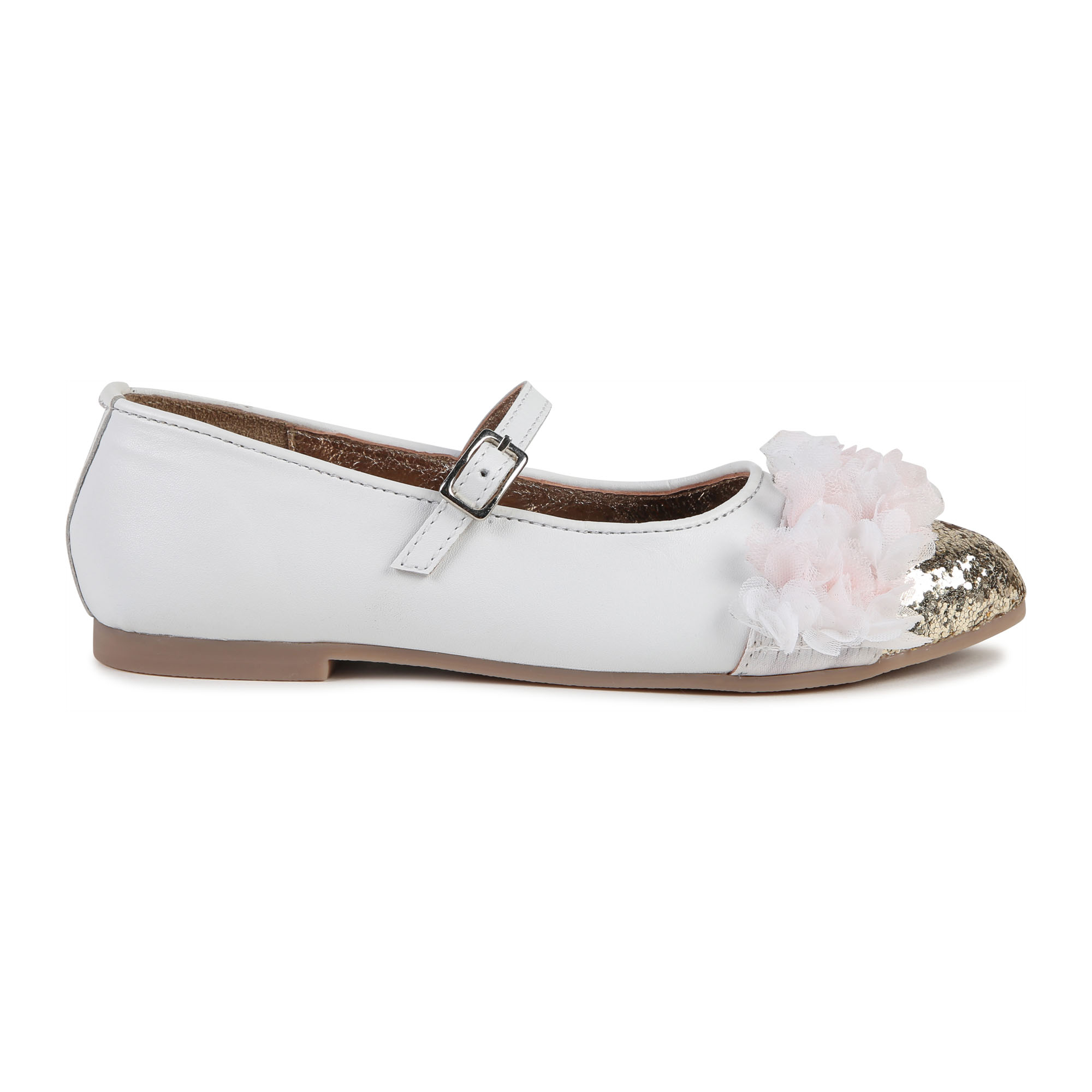 Frilly leather ballet pumps BILLIEBLUSH for GIRL
