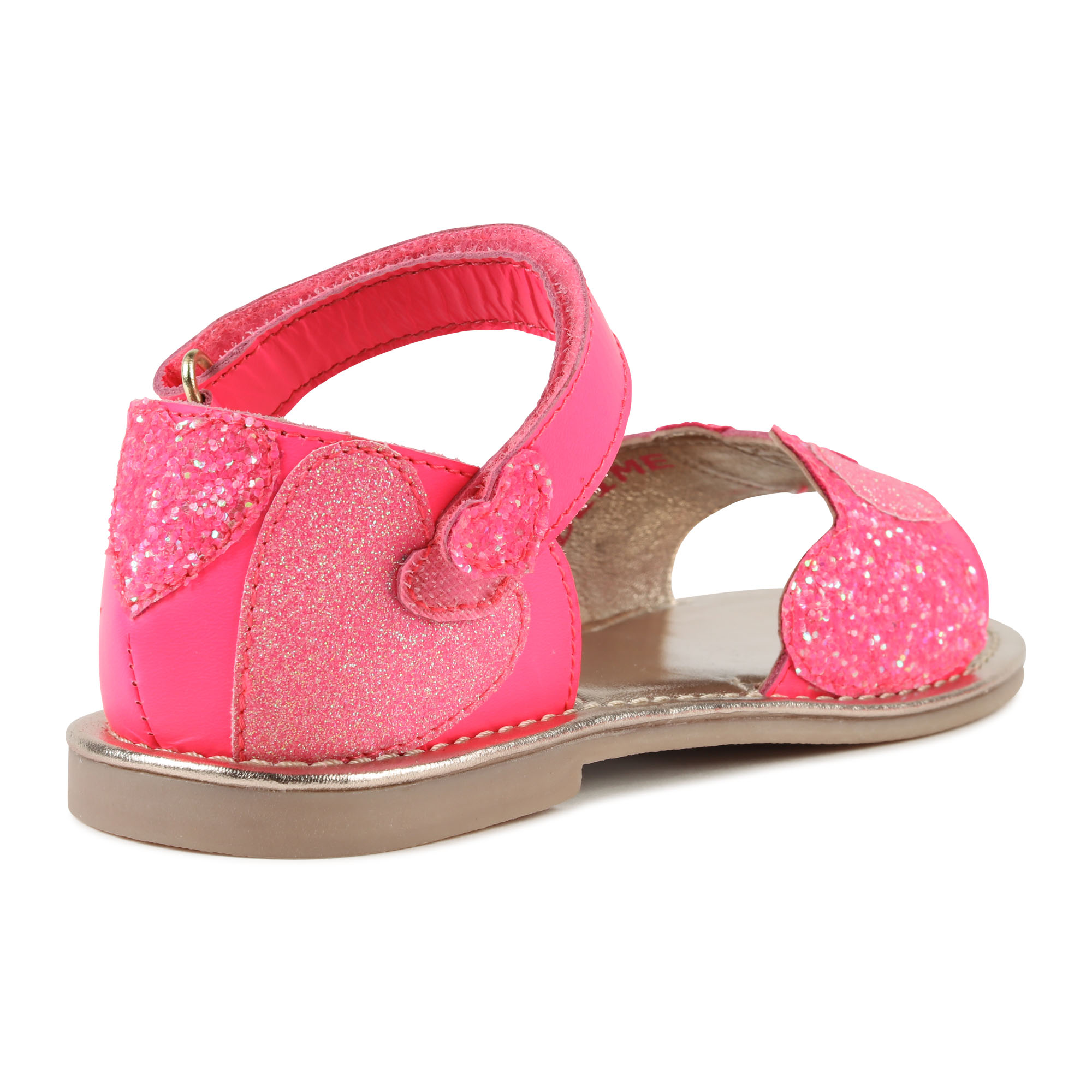 Leather sandals with hearts BILLIEBLUSH for GIRL