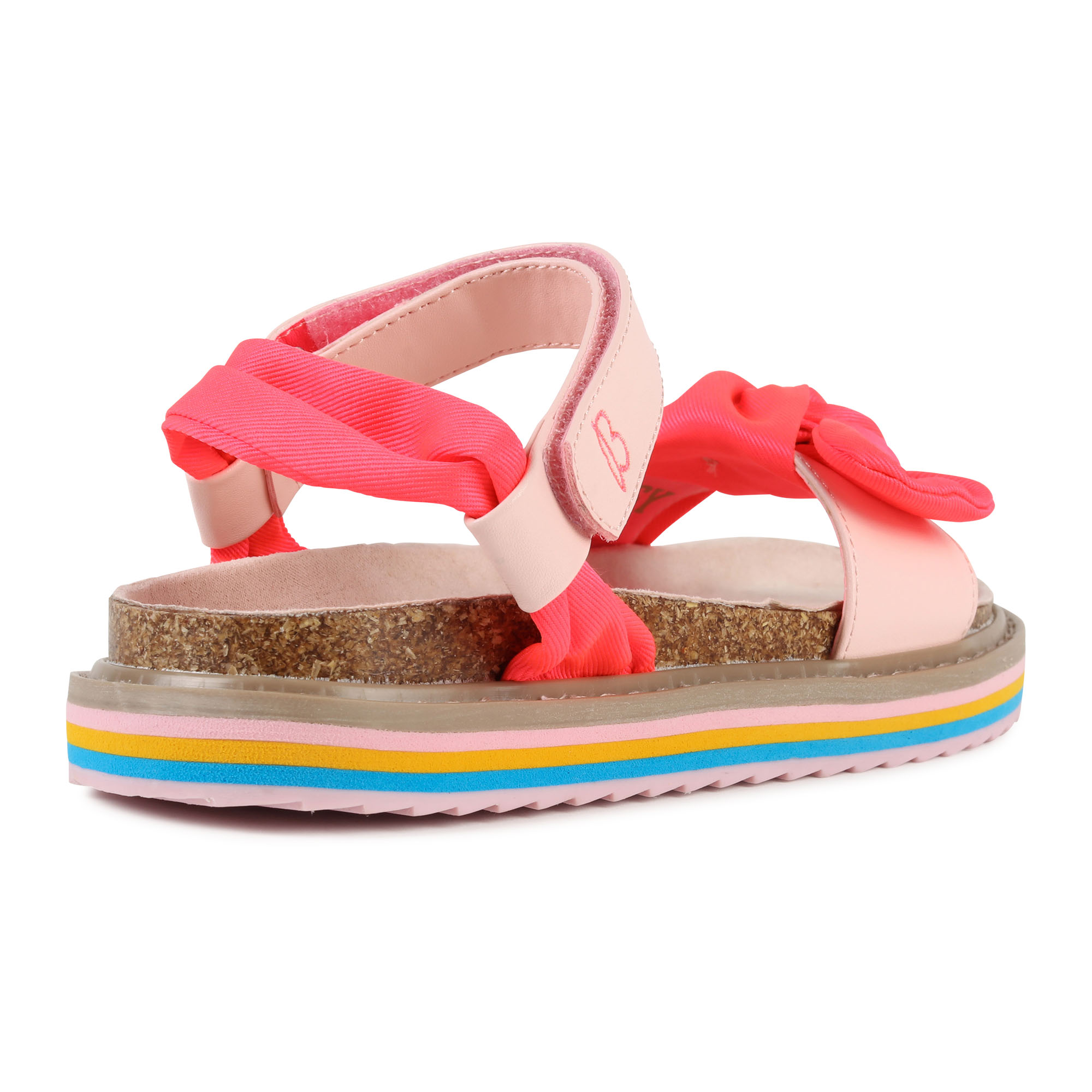 Textile sandals with knot BILLIEBLUSH for GIRL