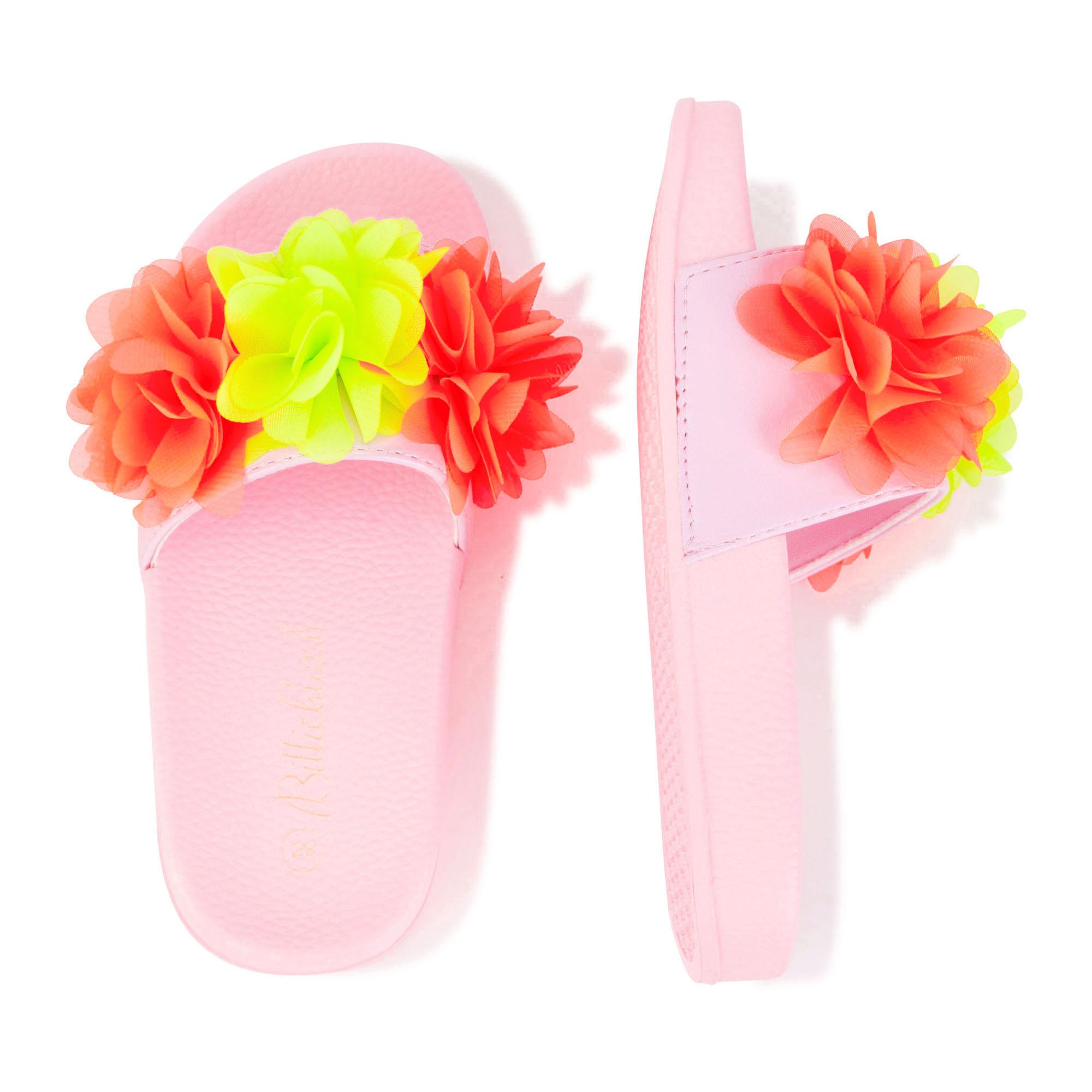Claquettes fleurs en tulle BILLIEBLUSH pour FILLE