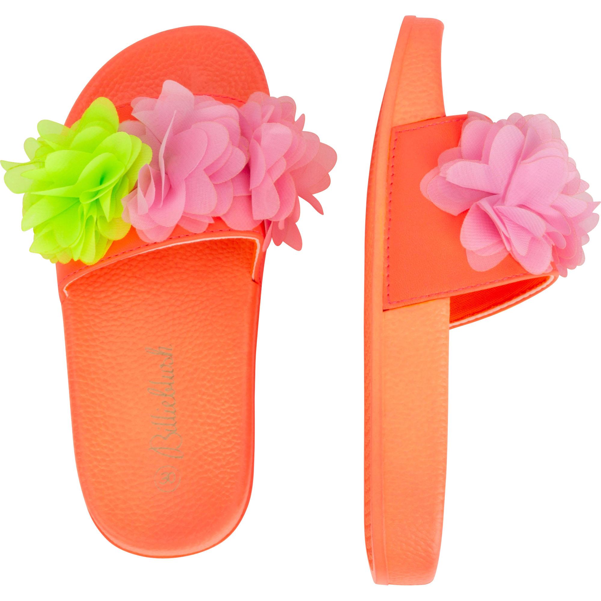 Flip-flops with tulle flowers BILLIEBLUSH for GIRL