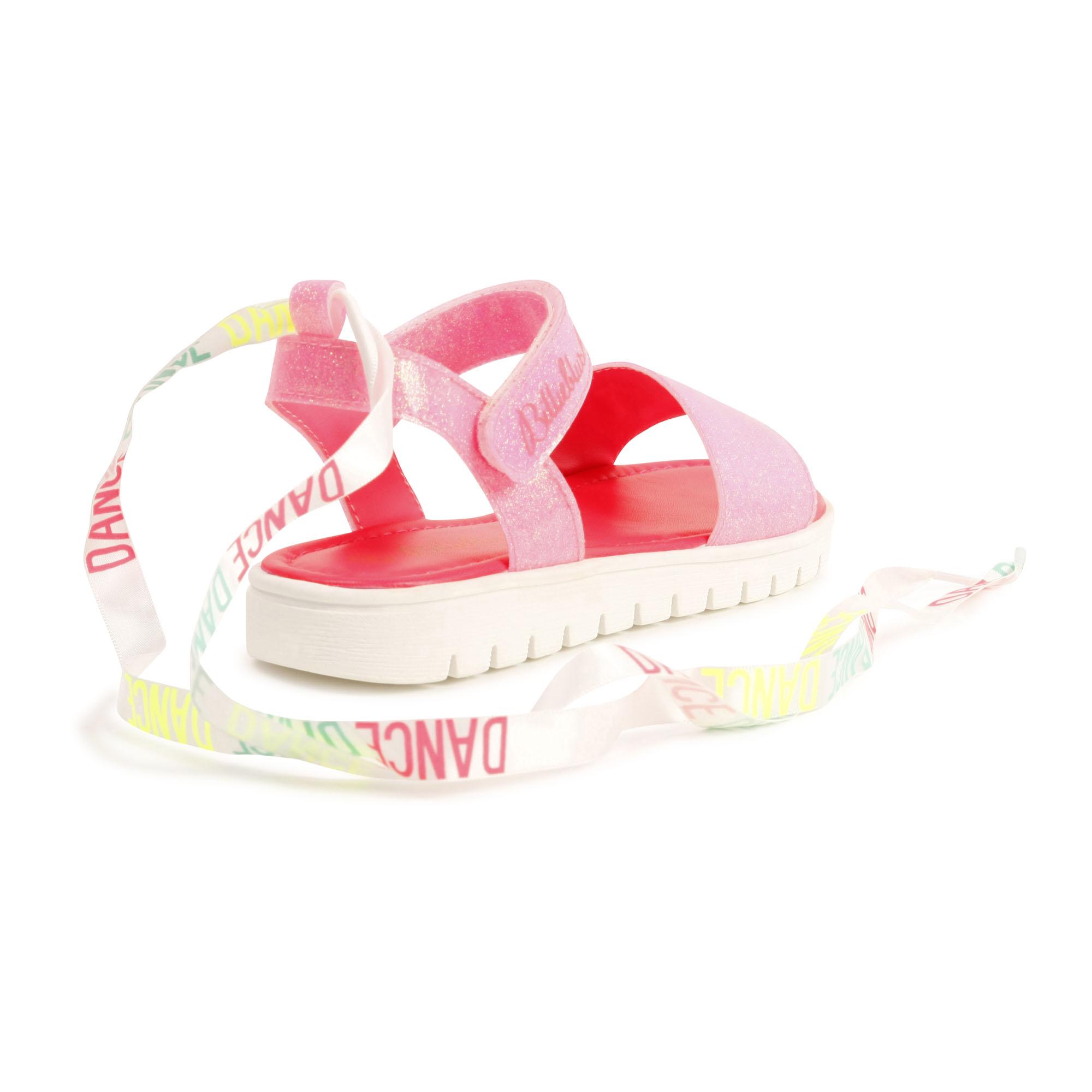 Sandales à paillettes ruban BILLIEBLUSH pour FILLE