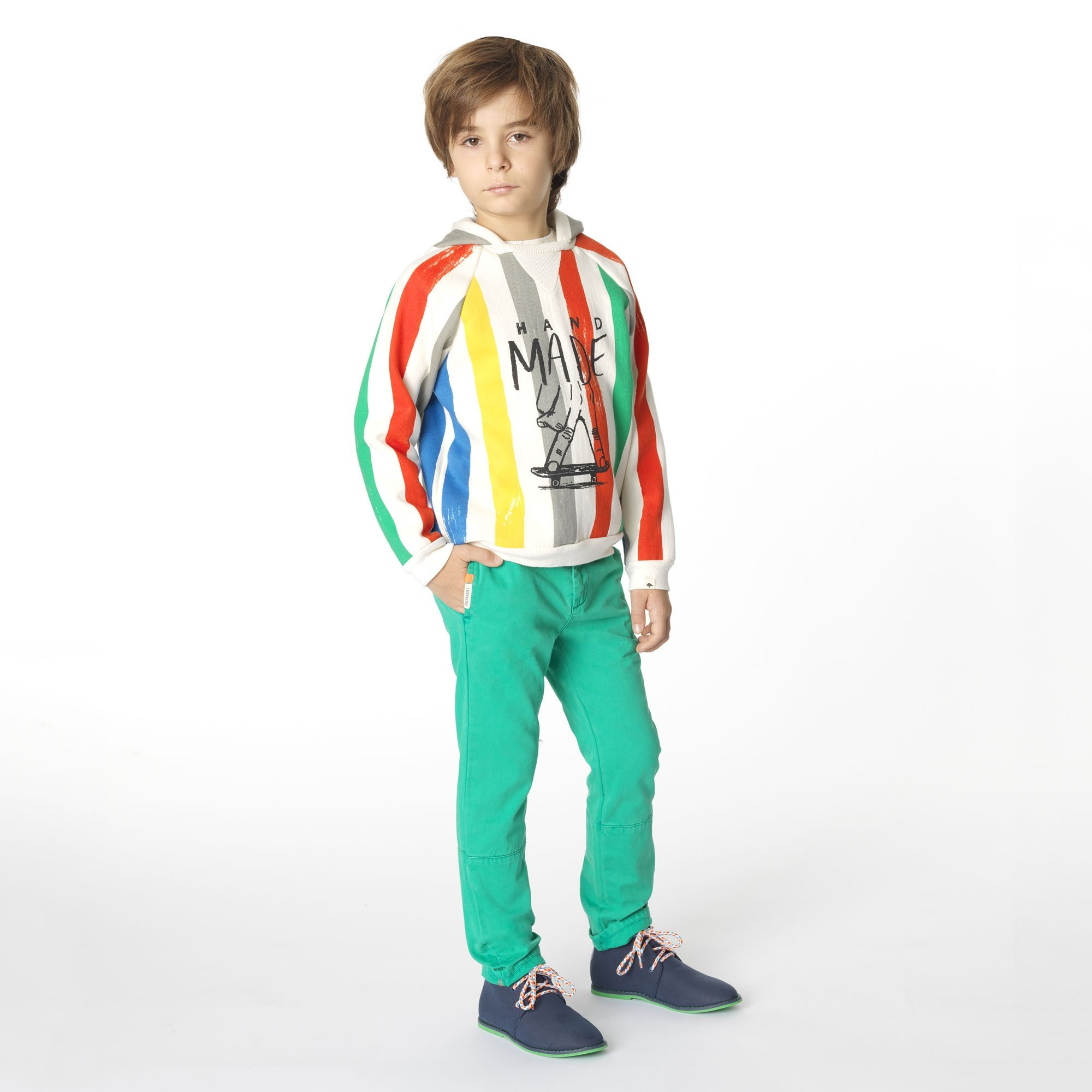 Chino-style trousers BILLYBANDIT for BOY