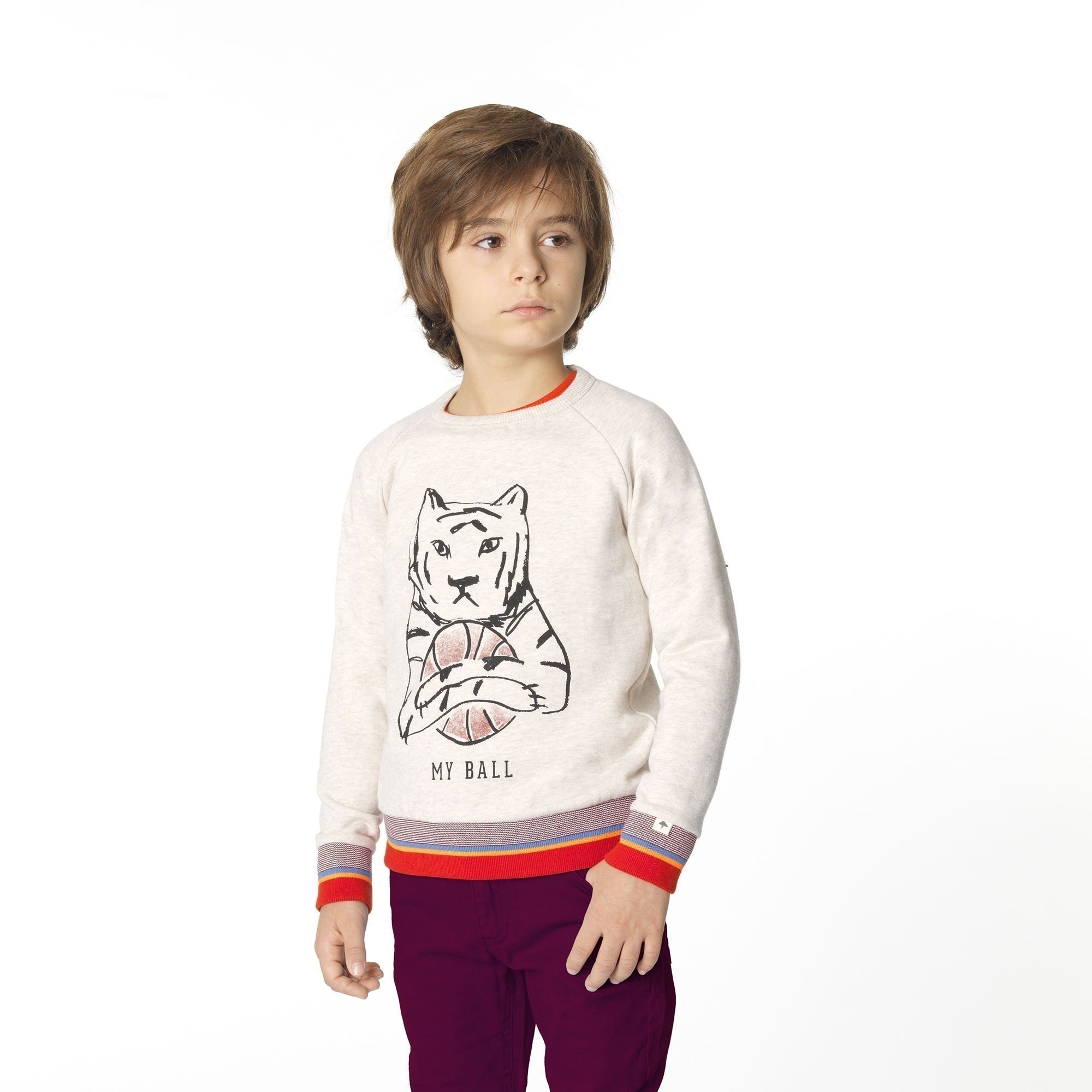 Sweatshirt with novelty print BILLYBANDIT for BOY
