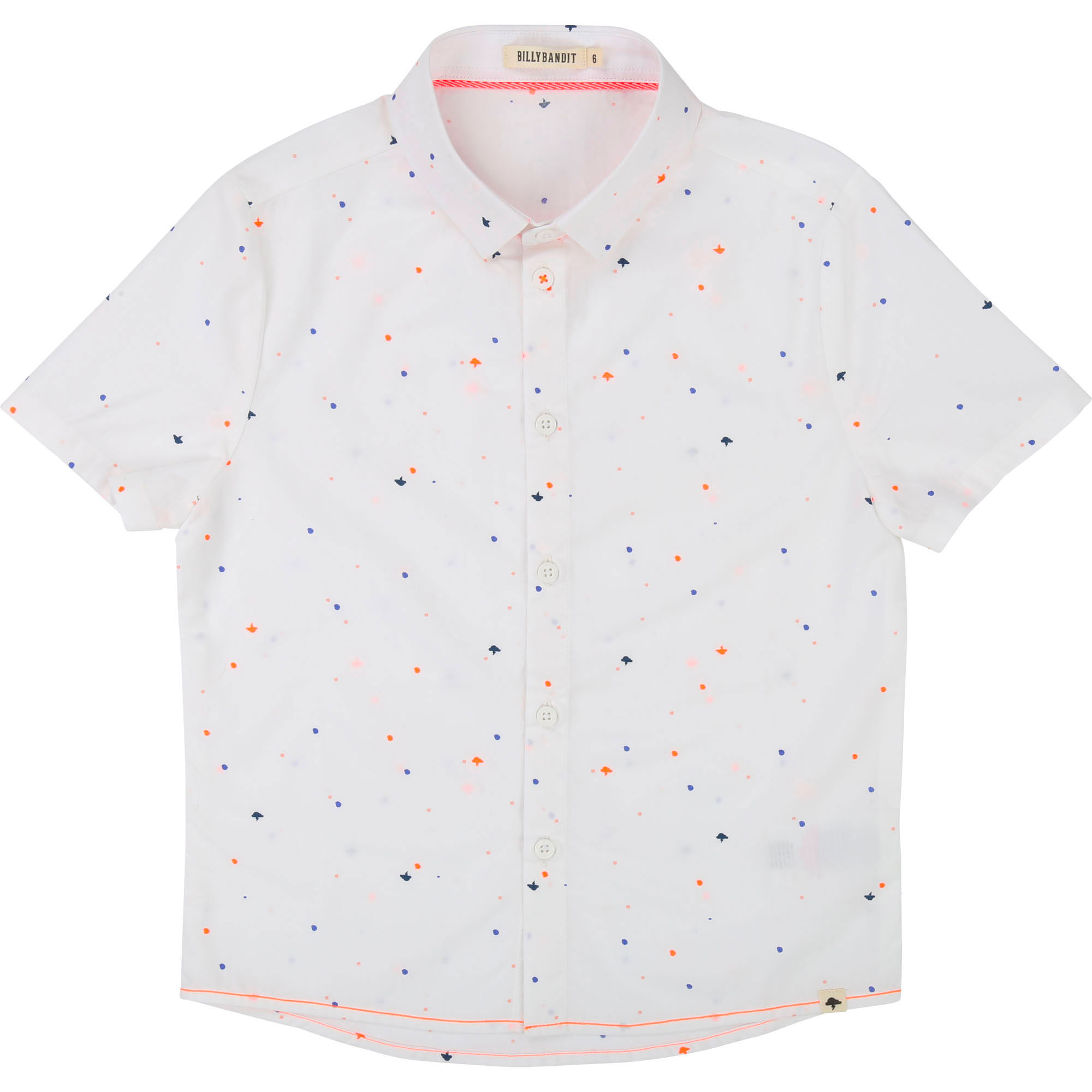Short-sleeved printed shirt BILLYBANDIT for BOY