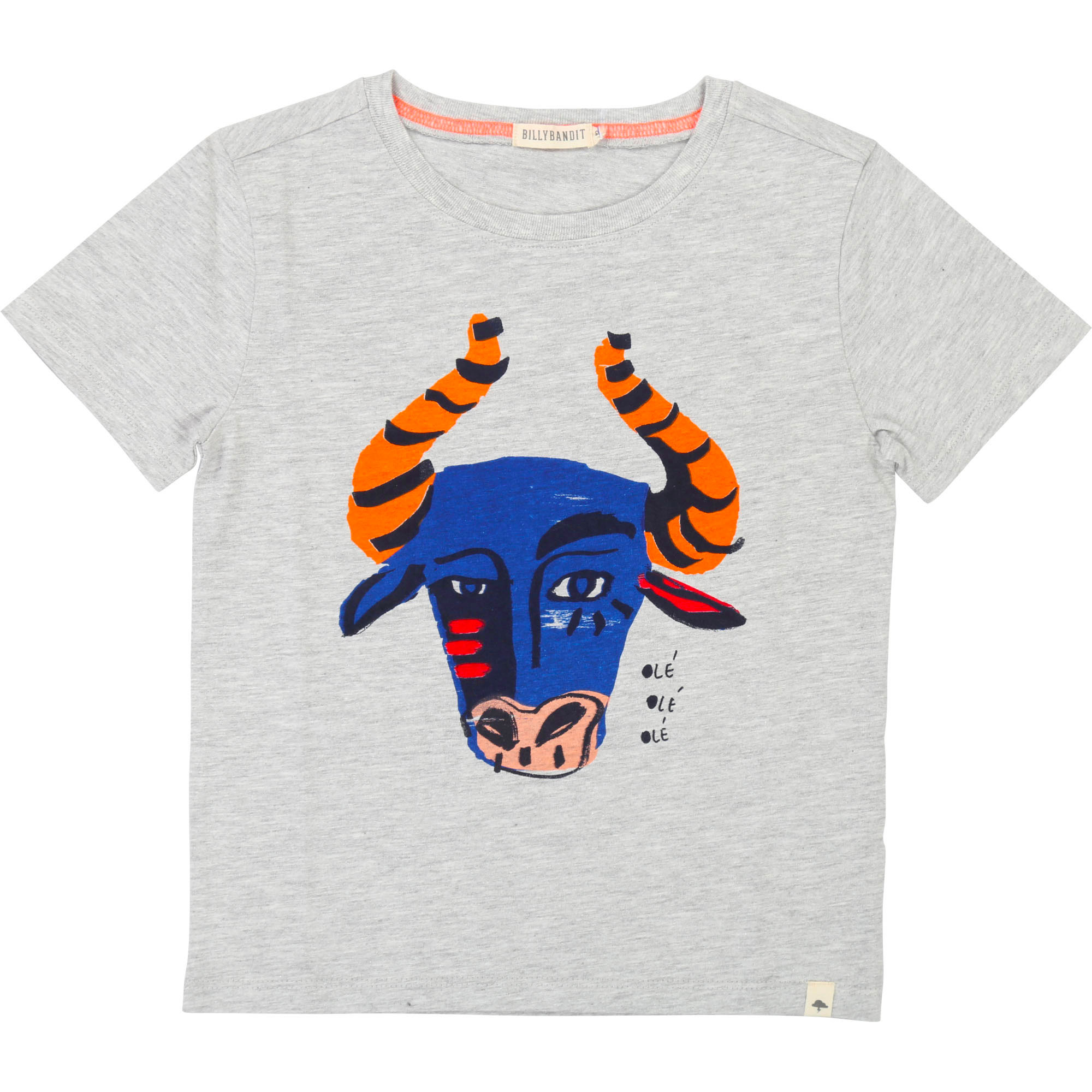 Cotton illustration T-shirt BILLYBANDIT for BOY