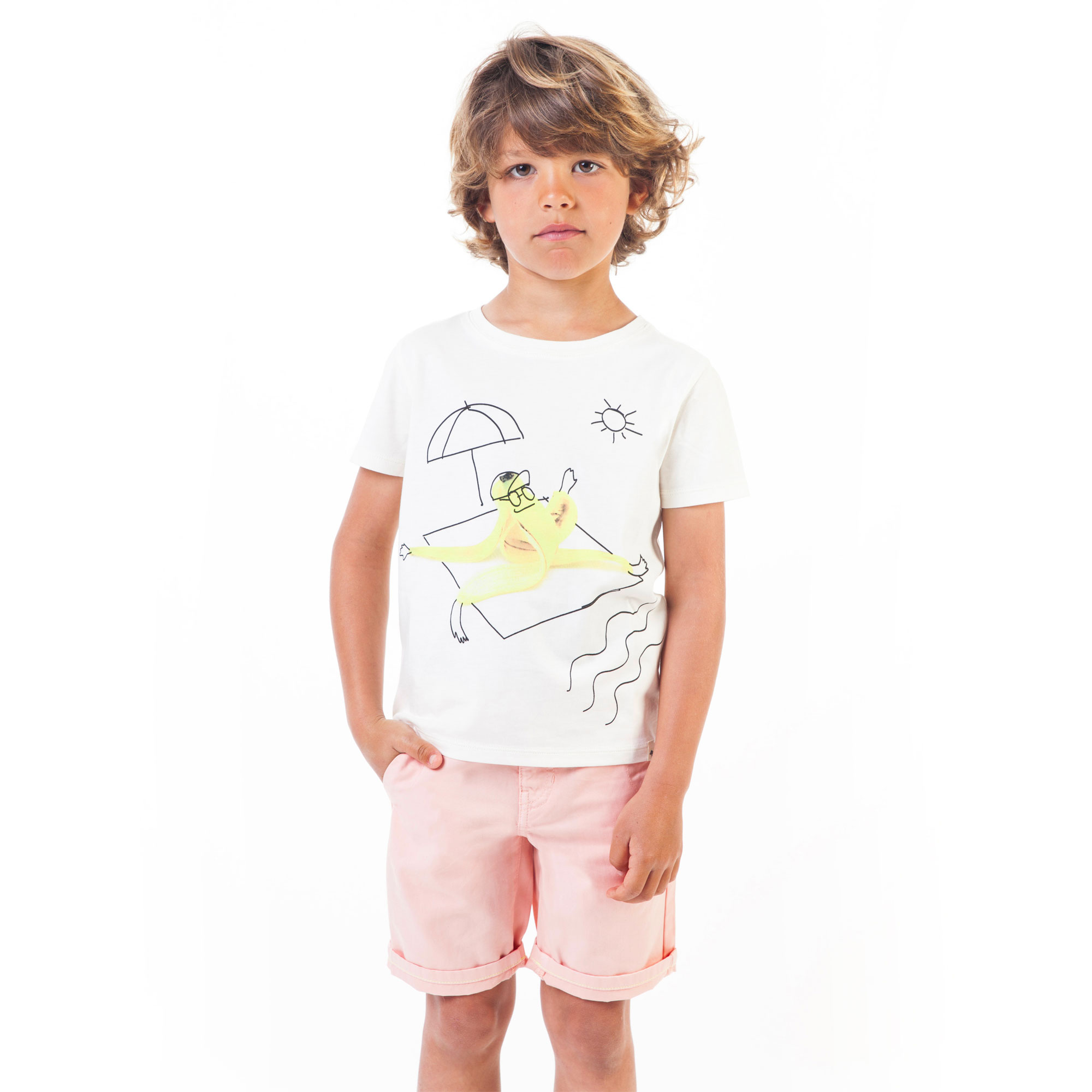 Short-sleeved print T-shirt BILLYBANDIT for BOY