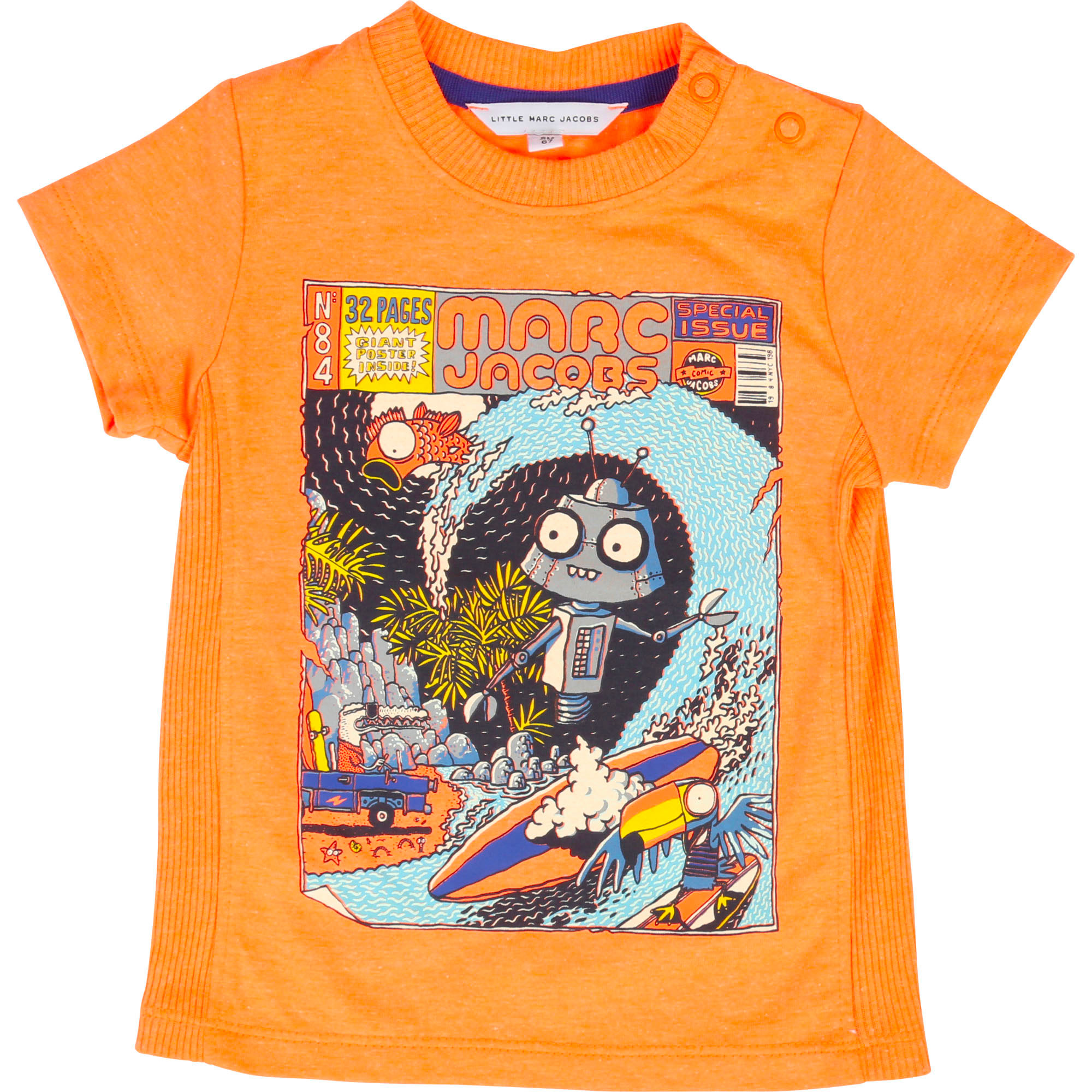 Fluorescent jersey T-shirt THE MARC JACOBS for BOY