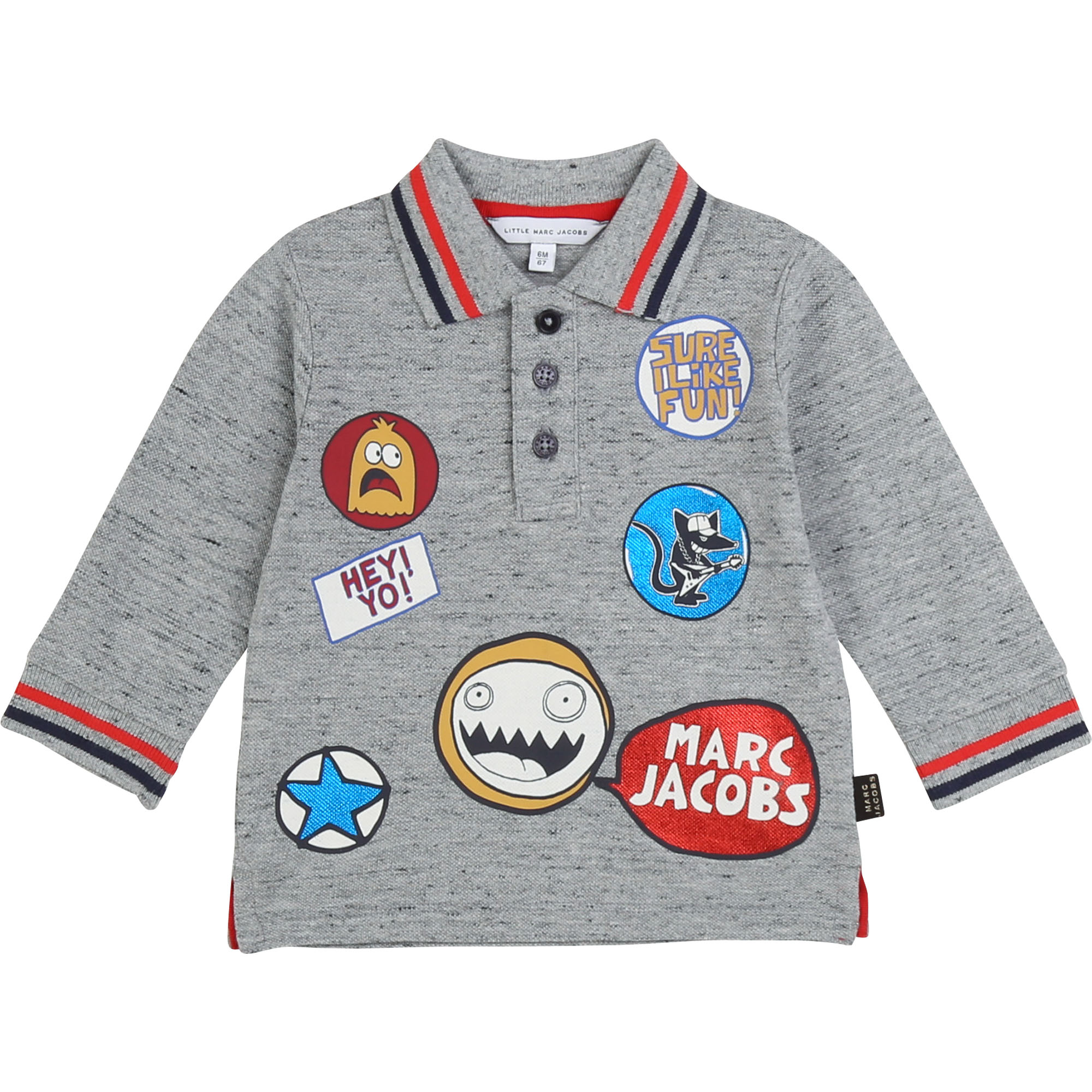 Polo in cotton piqué THE MARC JACOBS for BOY