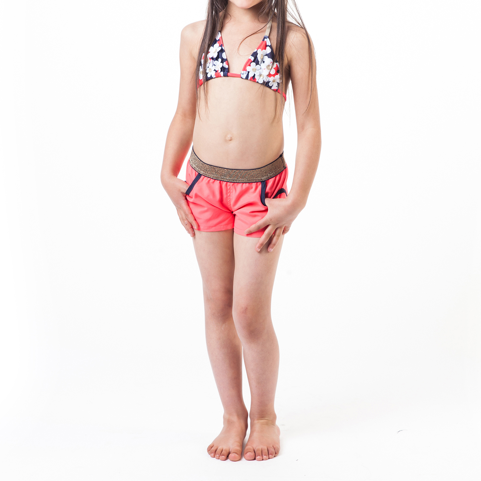 Floral swimming costume LITTLE MARC JACOBS for GIRL