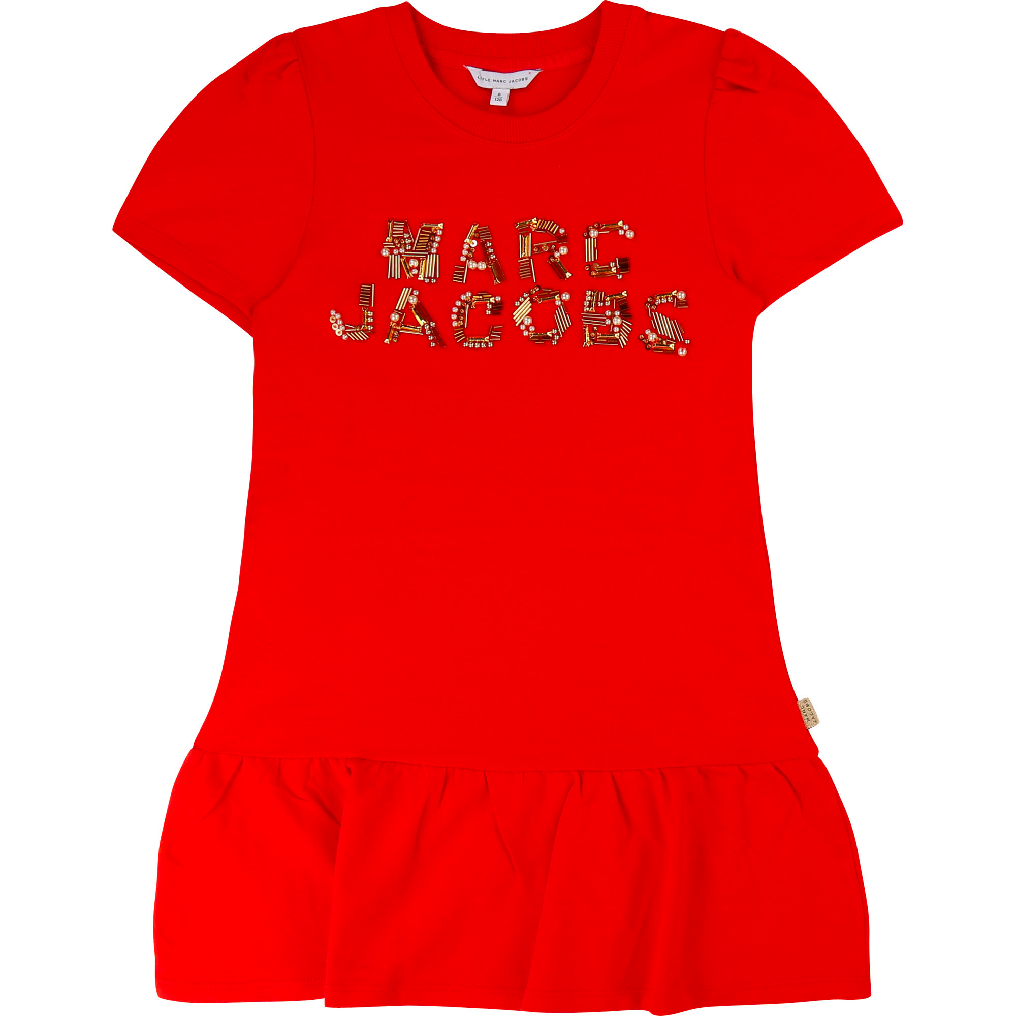 Robe à volants et perles LITTLE MARC JACOBS pour FILLE