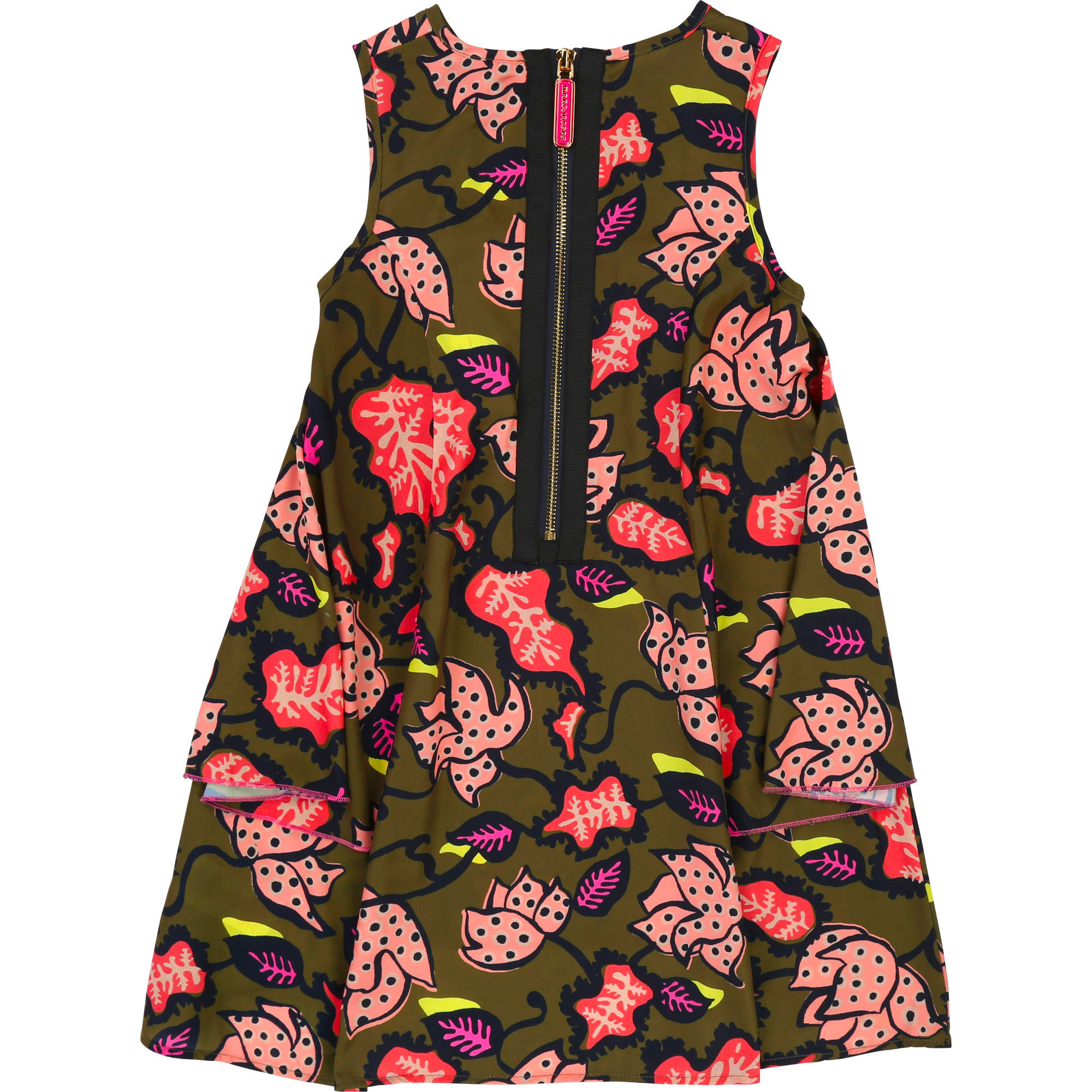 Asymmetric frilled dress THE MARC JACOBS for GIRL