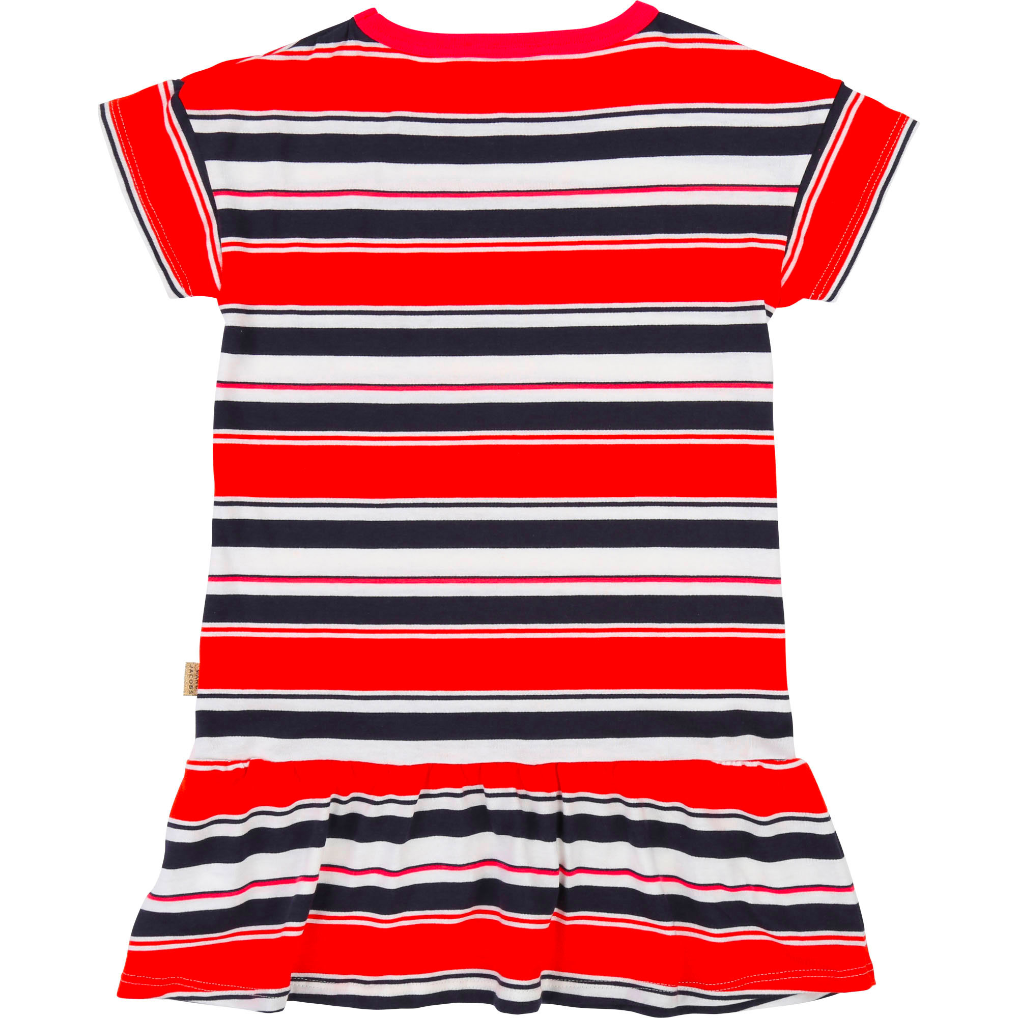 Dress with frills and stripes THE MARC JACOBS for GIRL