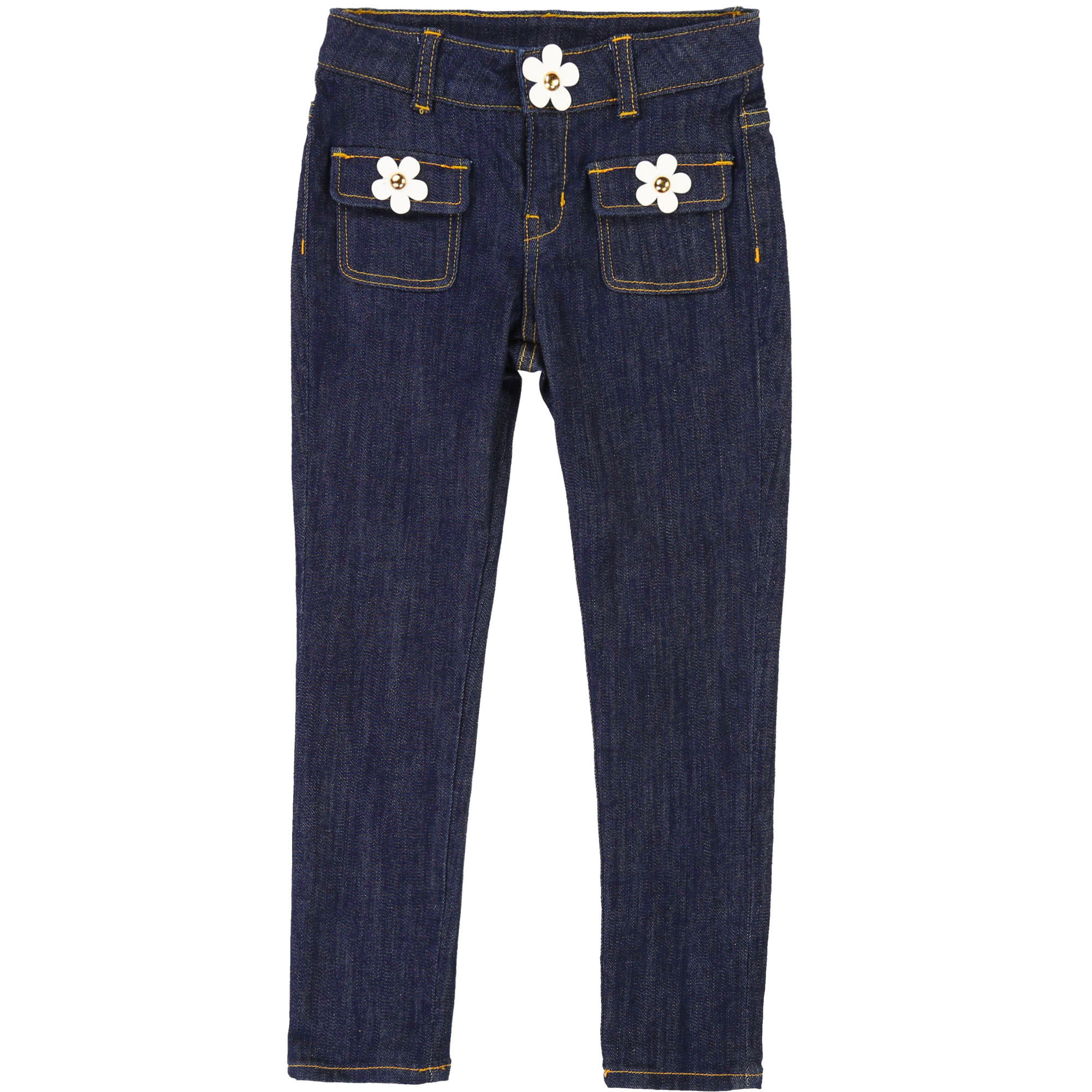 Slim-fit floral jeans LITTLE MARC JACOBS for GIRL