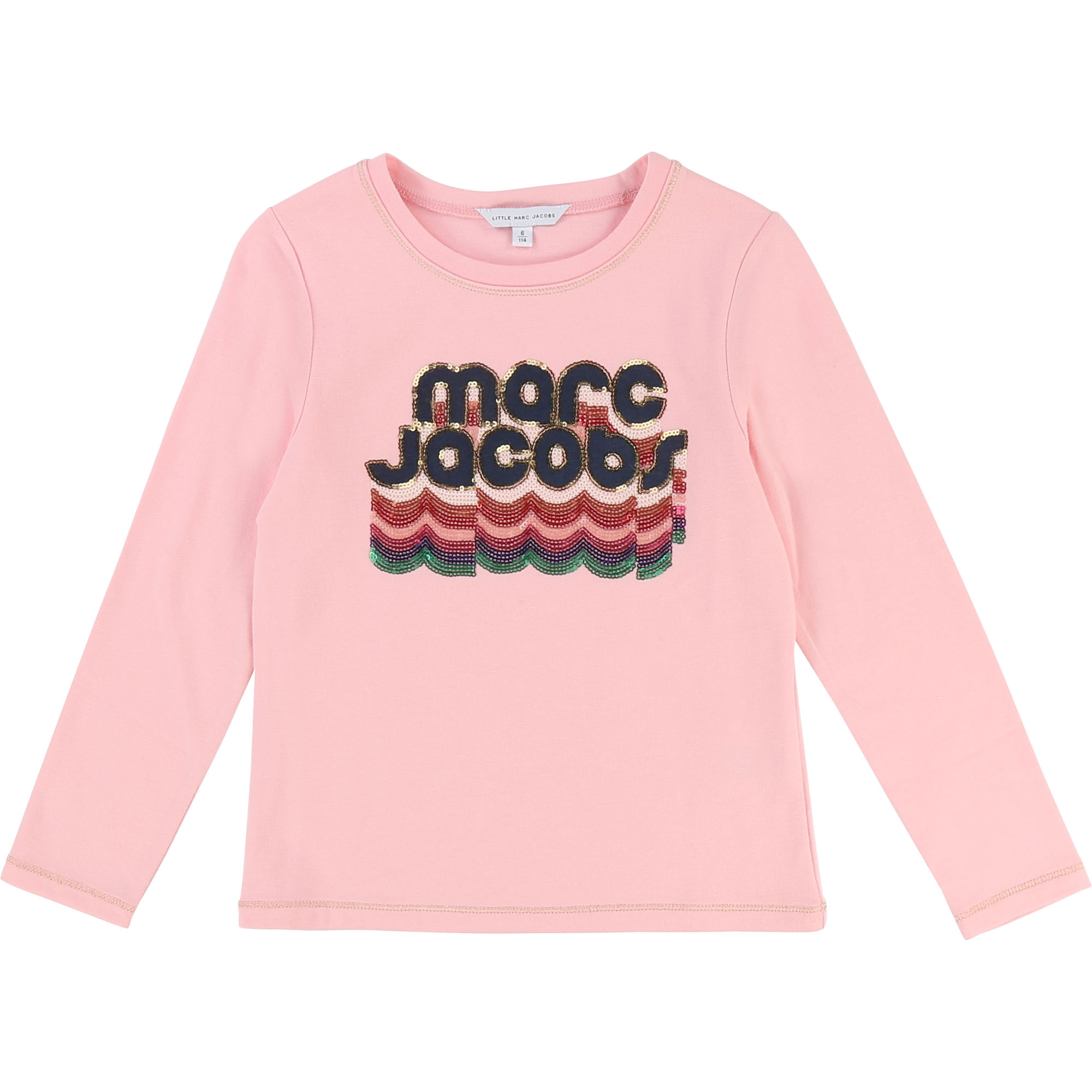 Sequin illustration T-shirt THE MARC JACOBS for GIRL