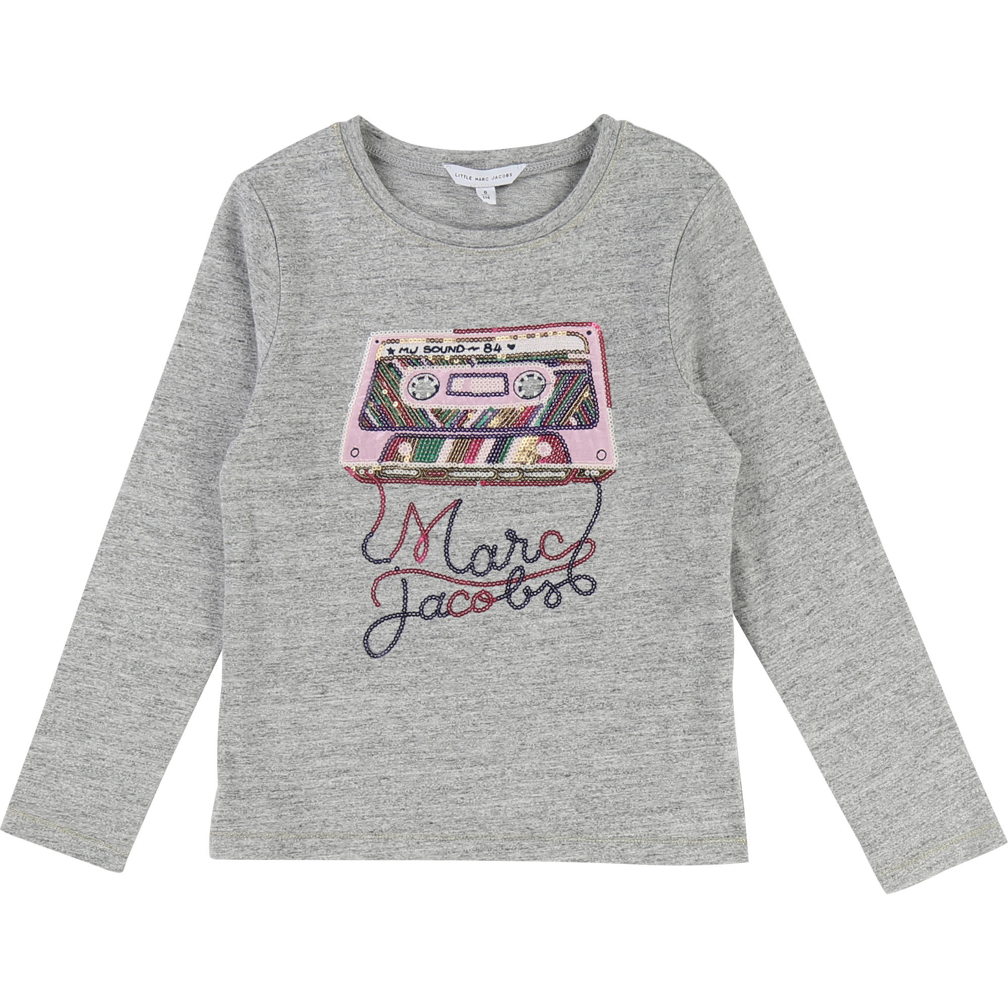 Sequin illustration T-shirt LITTLE MARC JACOBS for GIRL