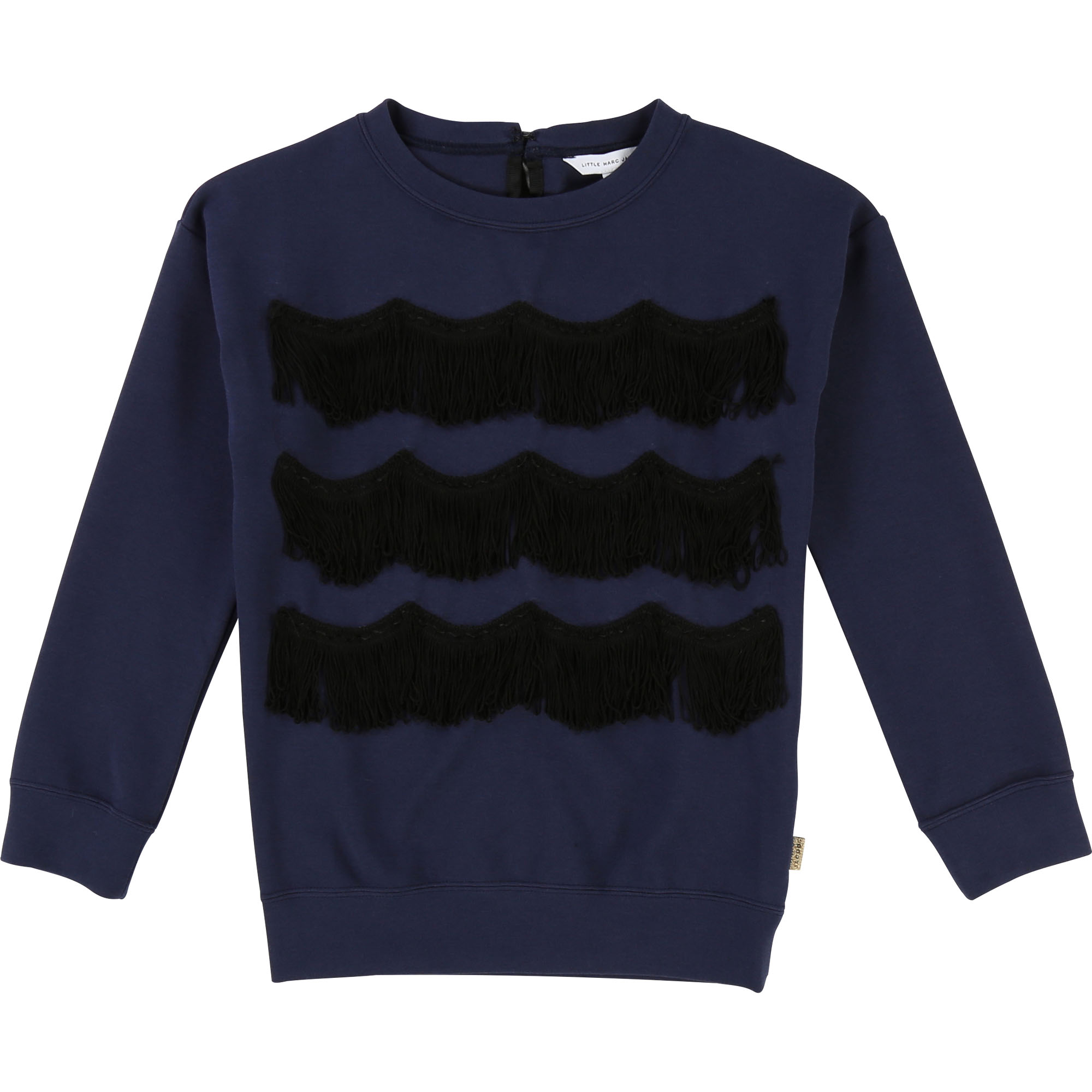 Milano knit fringed sweatshirt LITTLE MARC JACOBS for GIRL