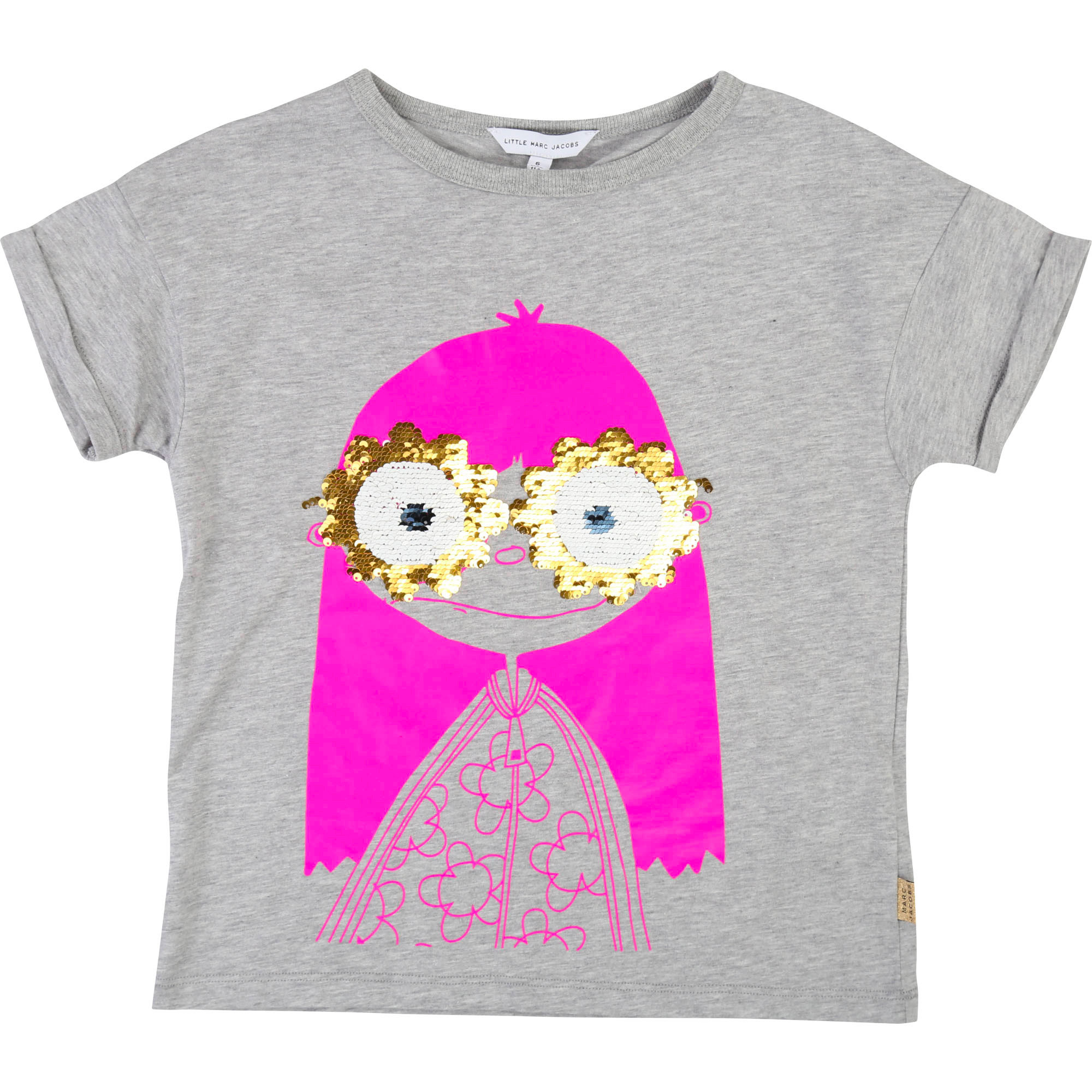 Camiseta con lentejuelas THE MARC JACOBS para NIÑA