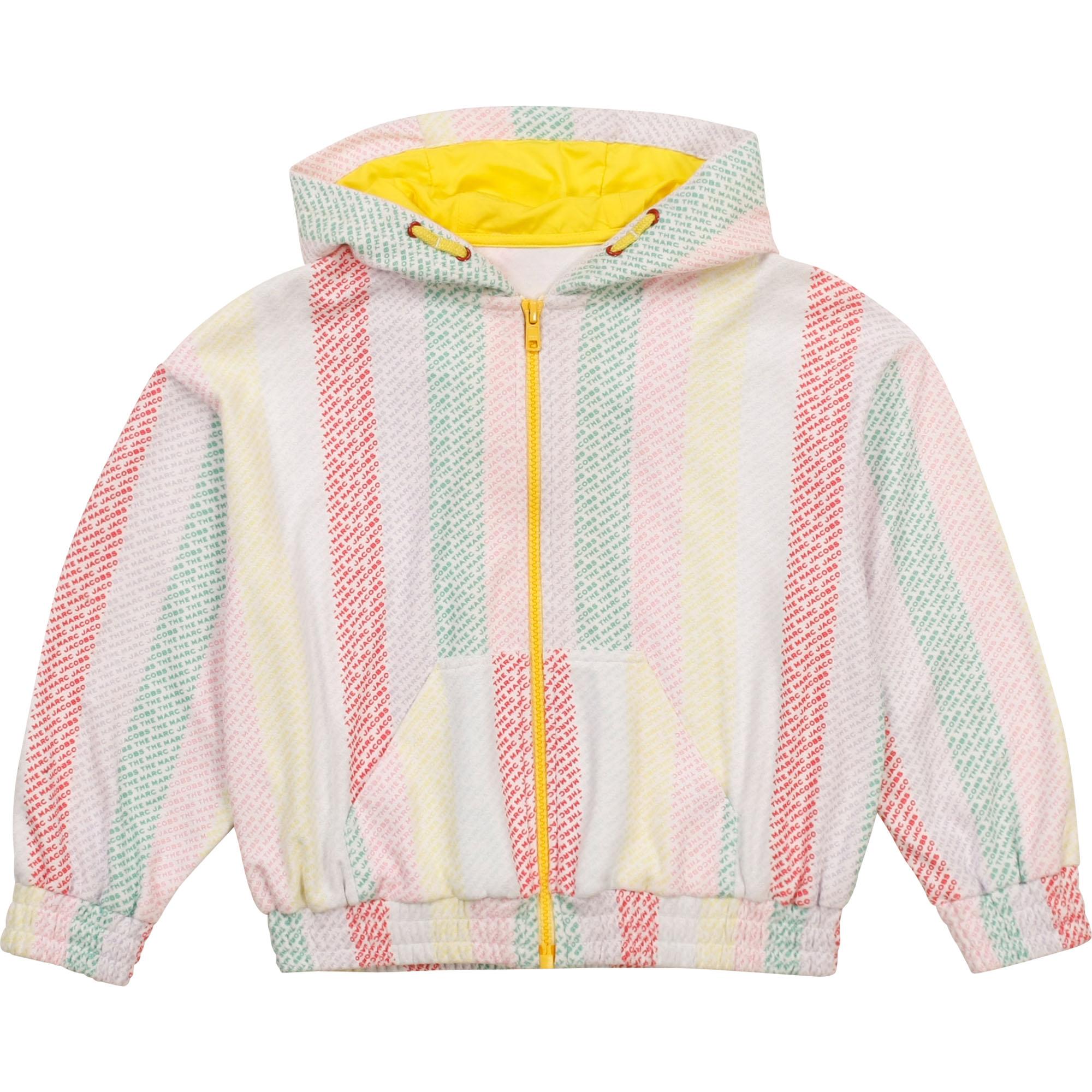 Hooded zip-up sweatshirt THE MARC JACOBS for GIRL
