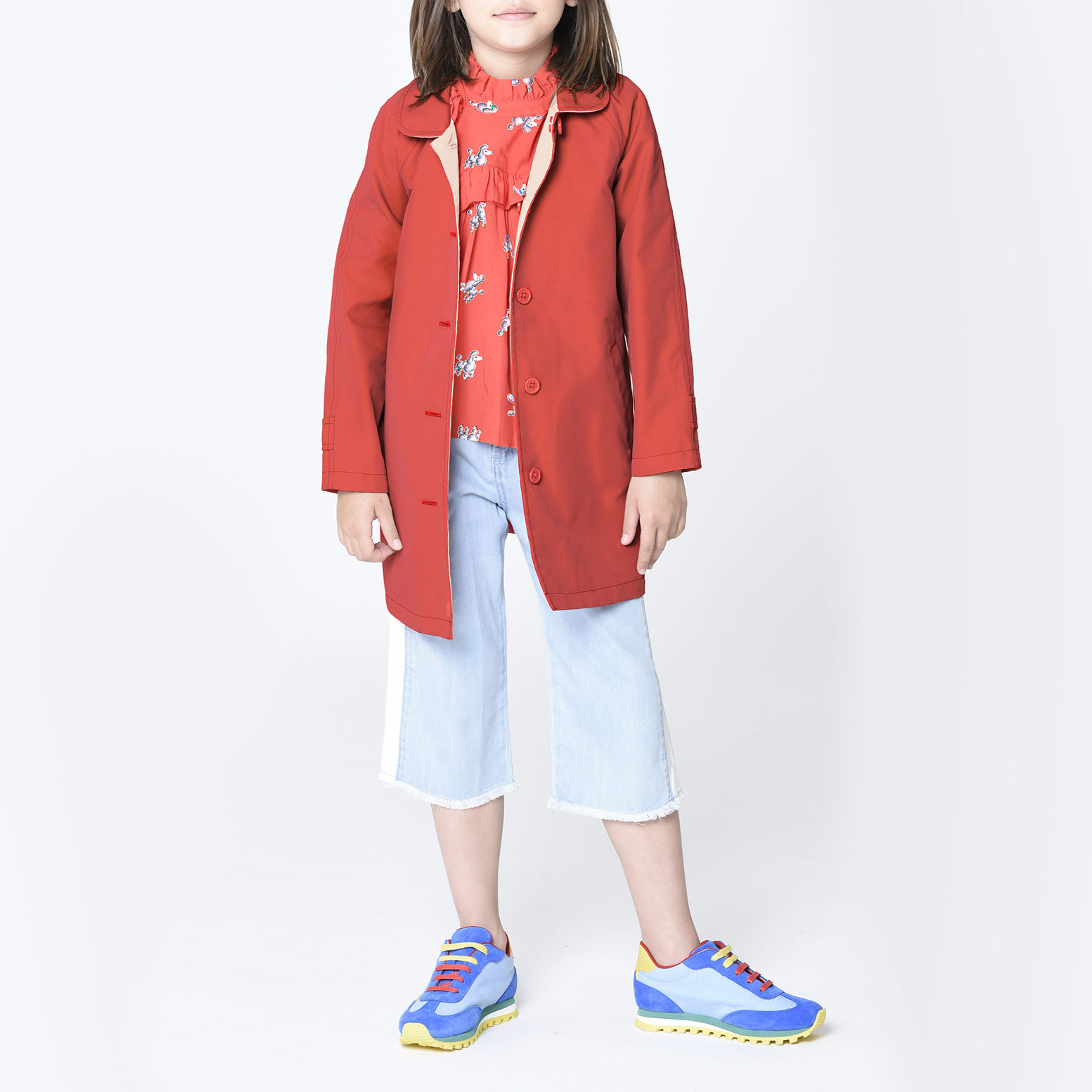 Blouse with gathered collar THE MARC JACOBS for GIRL