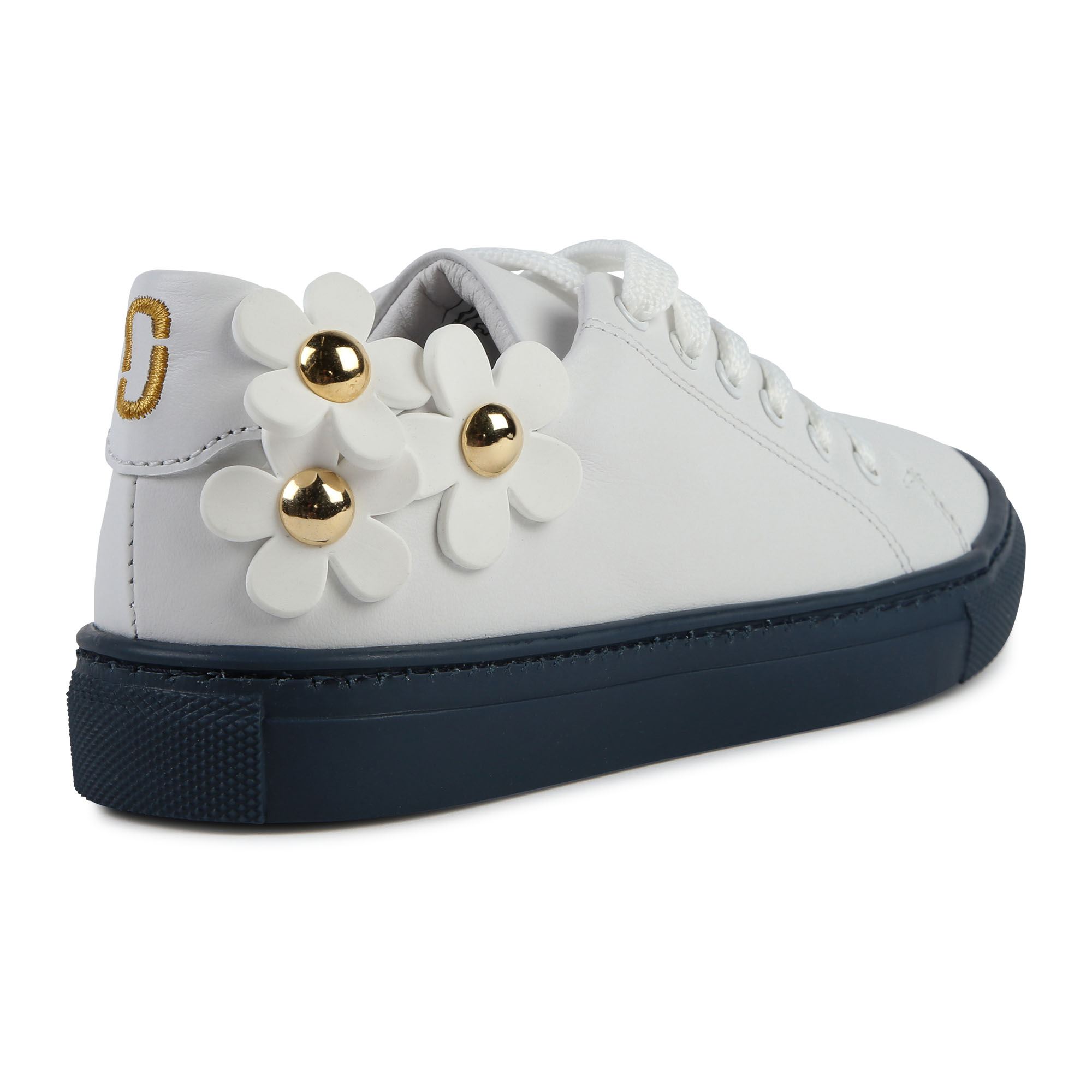 Leather floral trainers LITTLE MARC JACOBS for GIRL